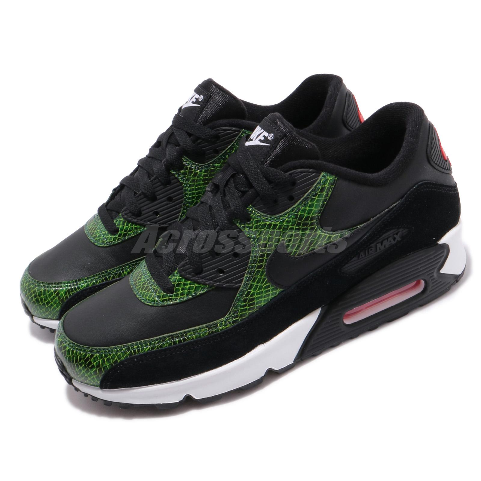 | CD0916 001 Nike Air Max 90 Green Python Black