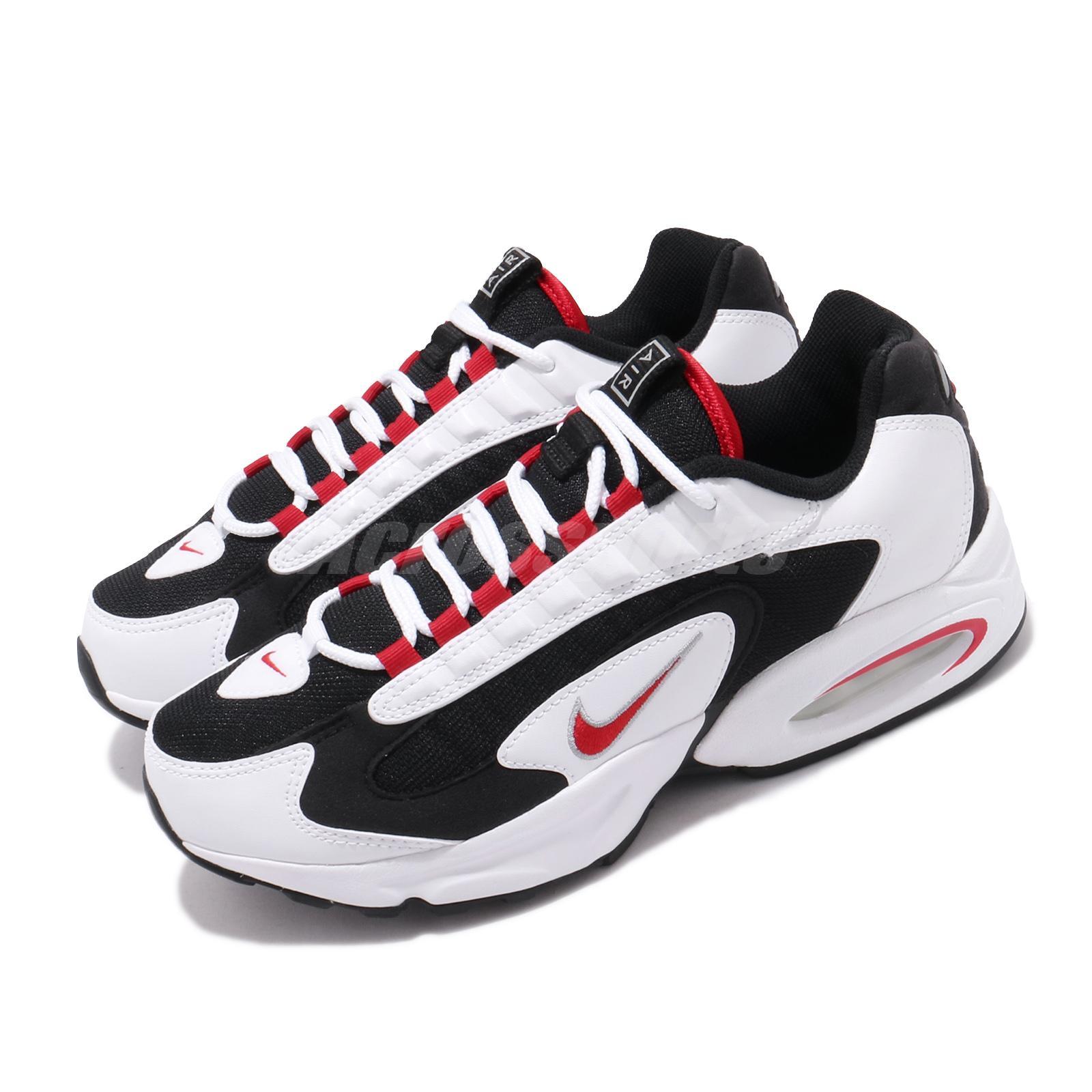 exterior Circular eternamente  Nike Air Max Triax 96 White Red Black Mens Retro Running Shoes CD2053-105 |  eBay