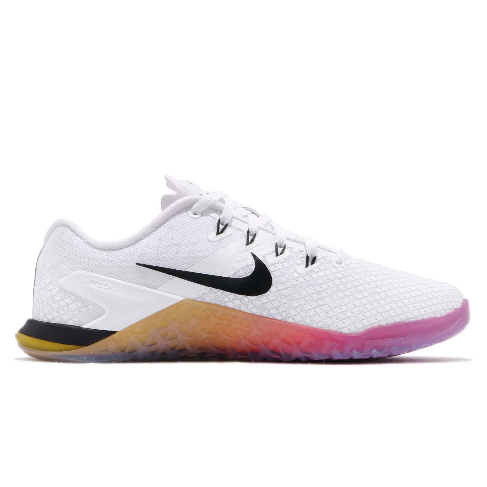 43cb9cb3e7068 Nike Wmns Metcon 4 XD White Black Pink Gold Women Cross Training ...