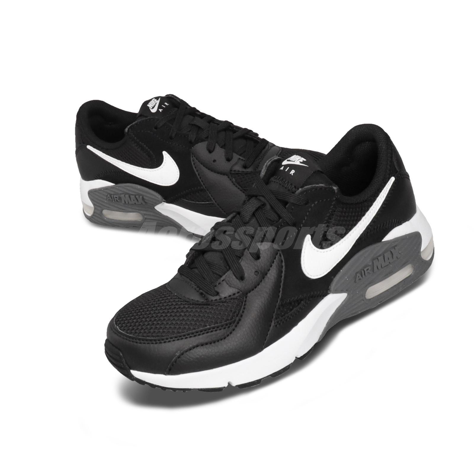 Details about Nike Wmns Air Max Excee Black White Grey Women Casual Shoes  Sneakers CD5432-003