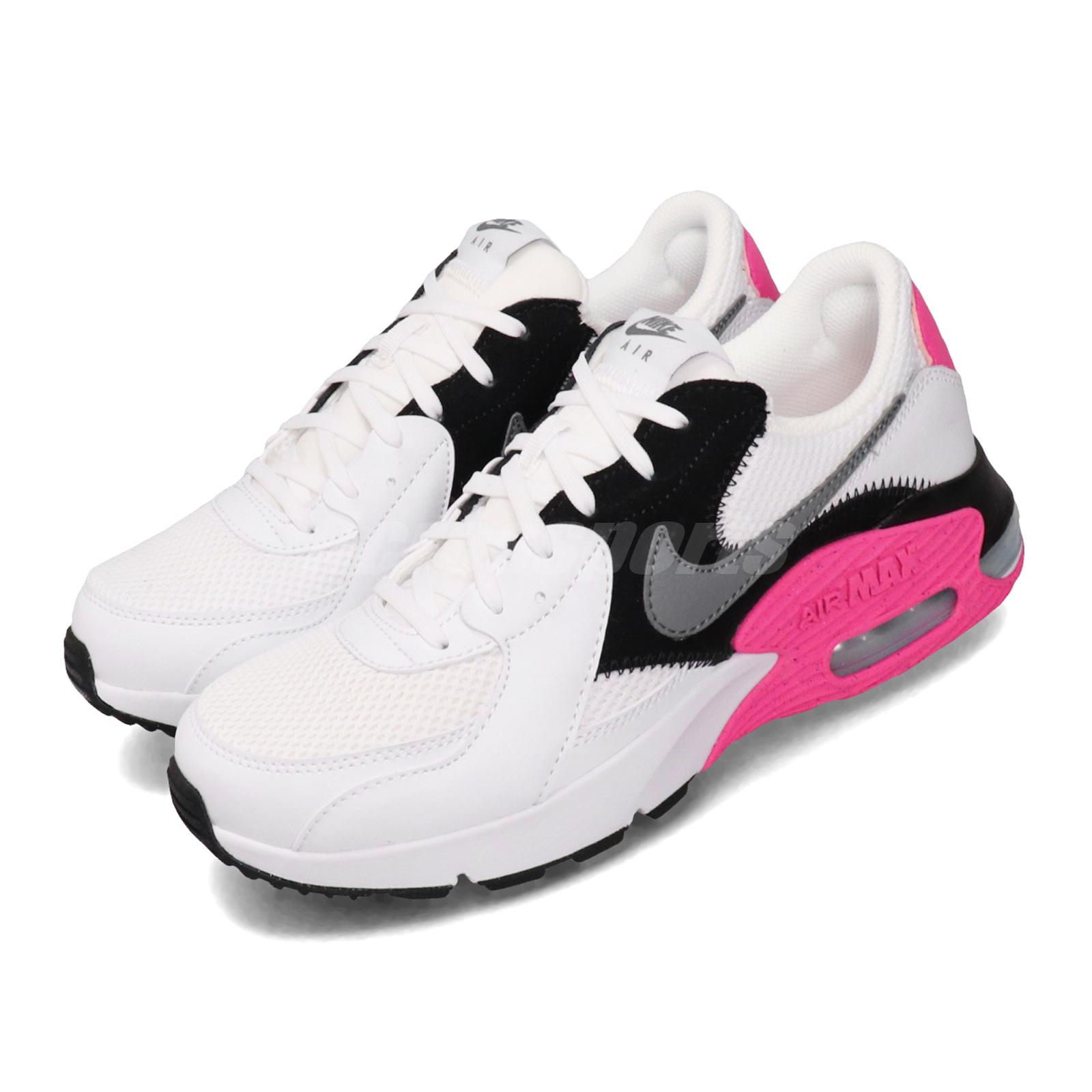 Details about Nike Wmns Air Max Excee White Grey Black Pink Women Casual  Shoes CD5432-100
