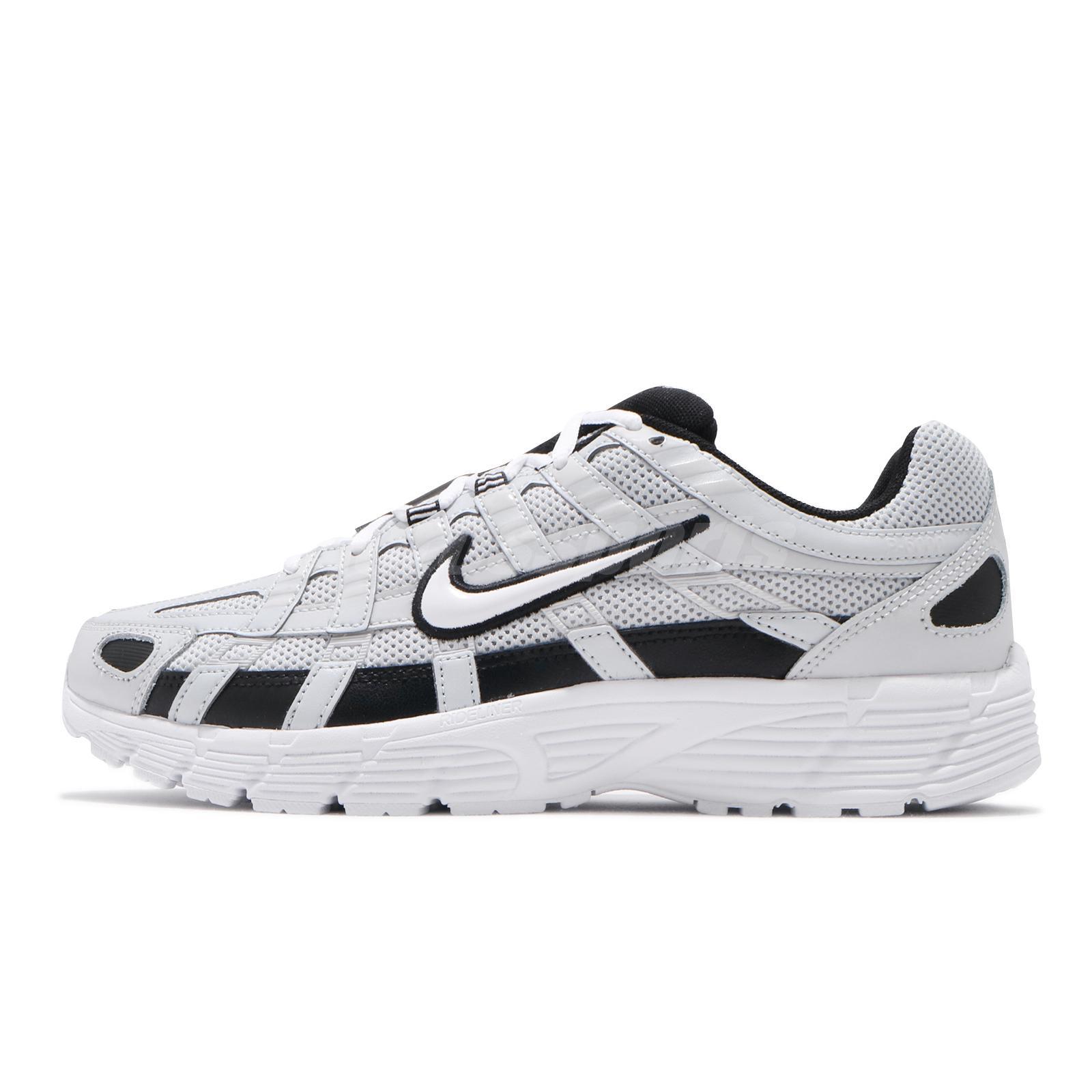 Nike P-6000 Grey White Black Mens Retro