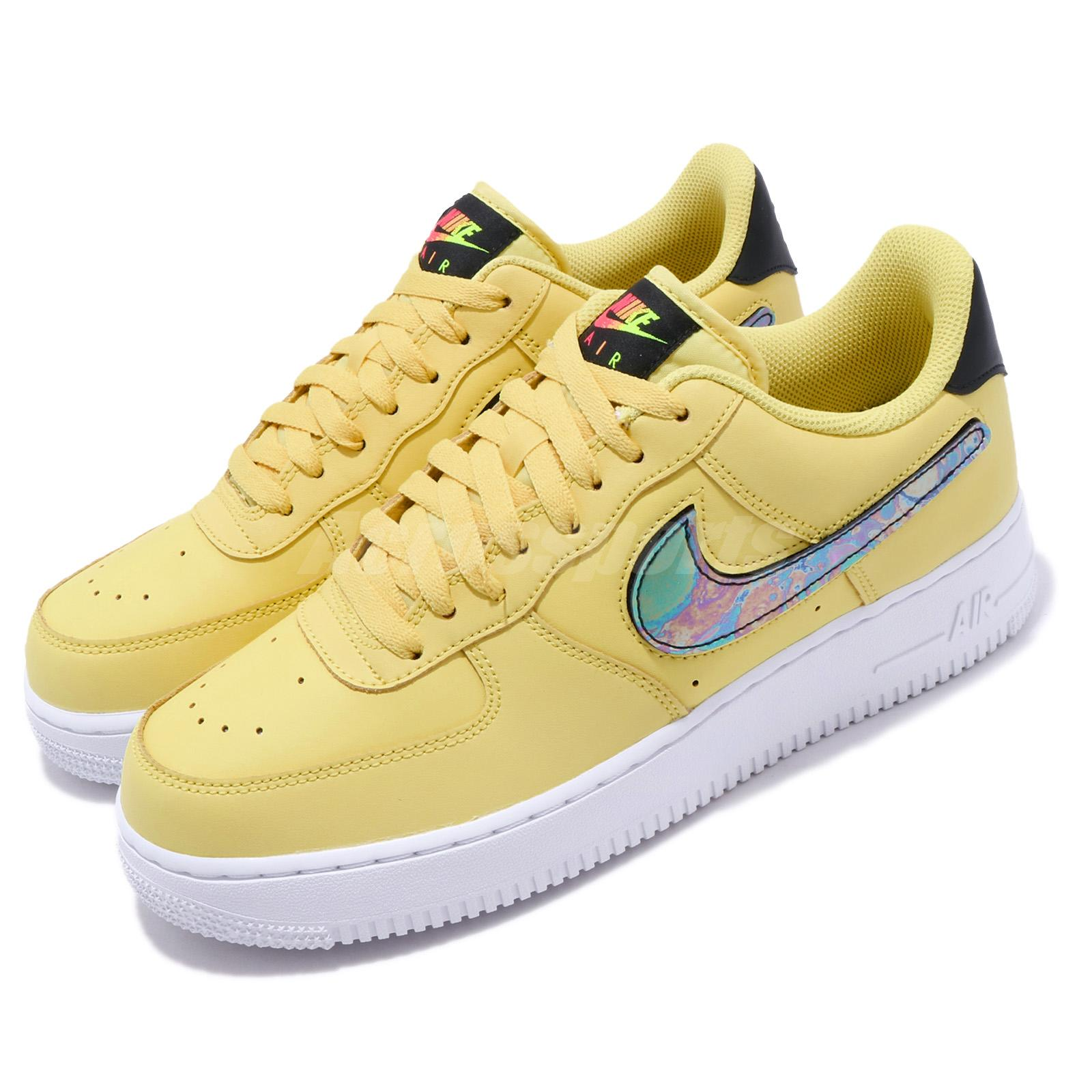 Details zu Nike Air Force 1 One Low LV8 Sneaker Men's Lifestyle Shoes Yellow Pulse