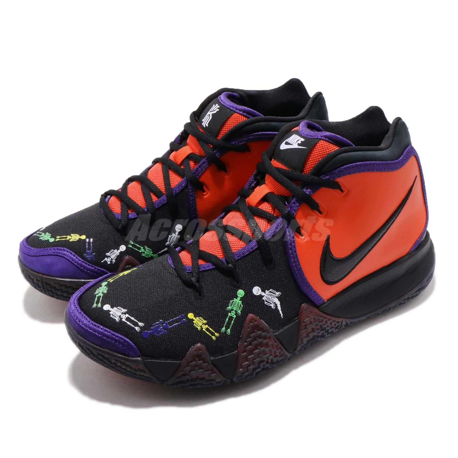 buy online 922b7 6802c Details about Nike Kyrie 4 DOTD Day of the Dead SB Irving Mens Basketball  Shoes CI0278-800