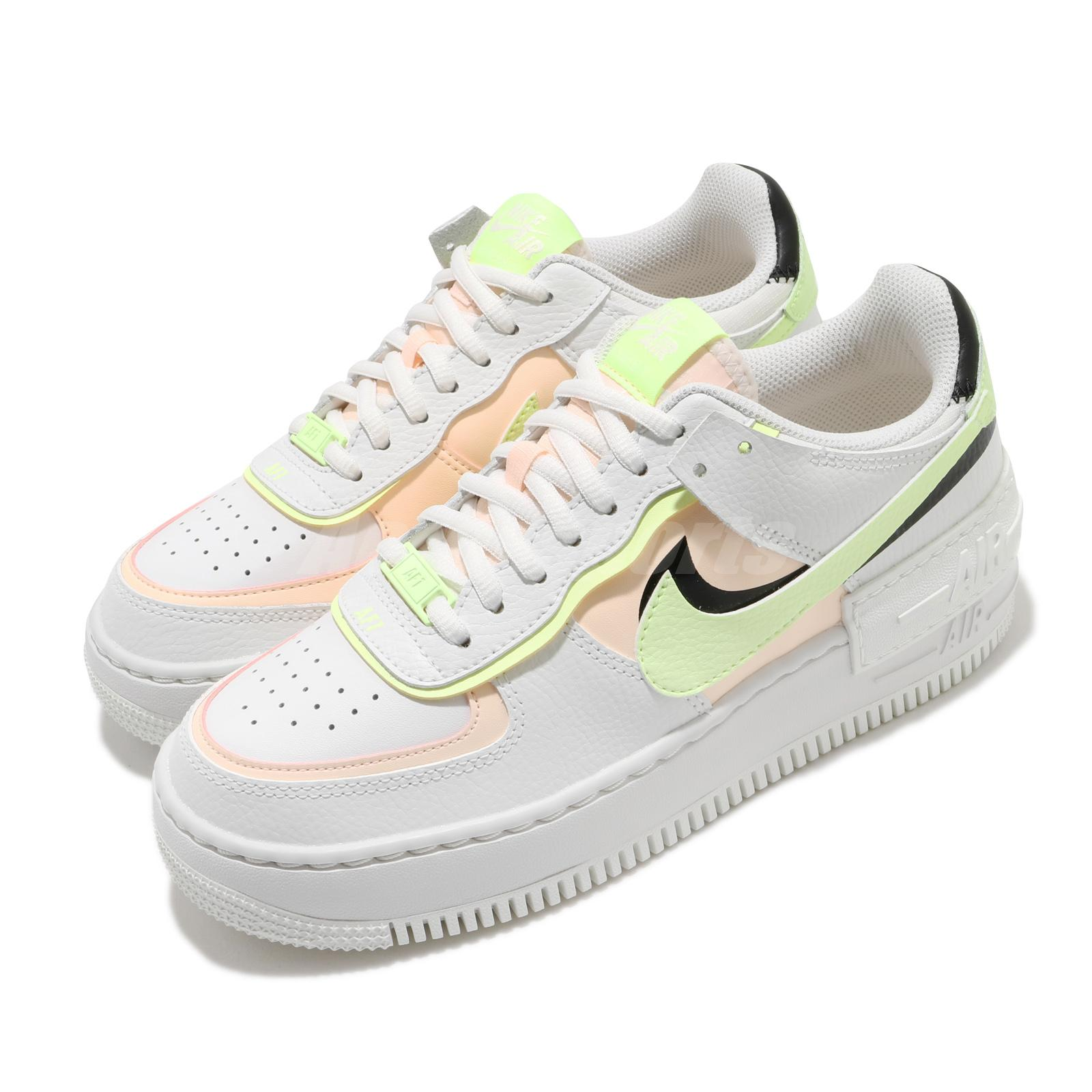 Nike Wmns Af1 Shadow Air Force 1 White Crimson Tint Barely Volt Women Ci0919 107 Ebay In this video i review a brand new model from nike, the nike air force 1 shadow. details about nike wmns af1 shadow air force 1 white crimson tint barely volt women ci0919 107