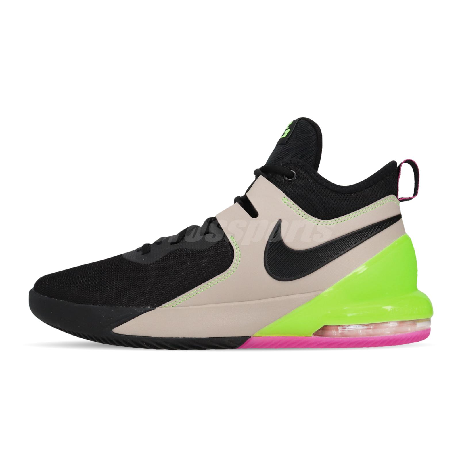 Saludo Caña Gruñido  Nike Air Max Impact Black Khaki Ghost Green Pink Men Basketball Shoes  CI1396-001   eBay