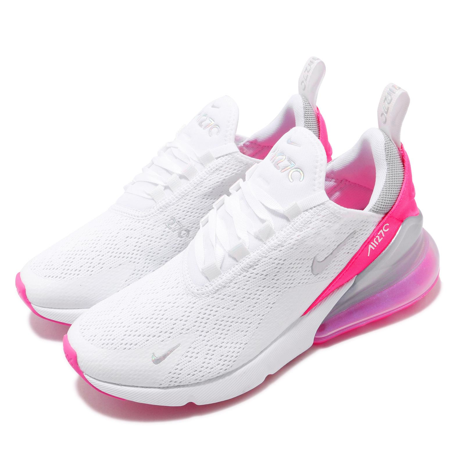 great deals 2017 wholesale price get online Details about Nike Wmns Air Max 270 White Pink Silver Women Running Shoes  Sneakers CI1963-191