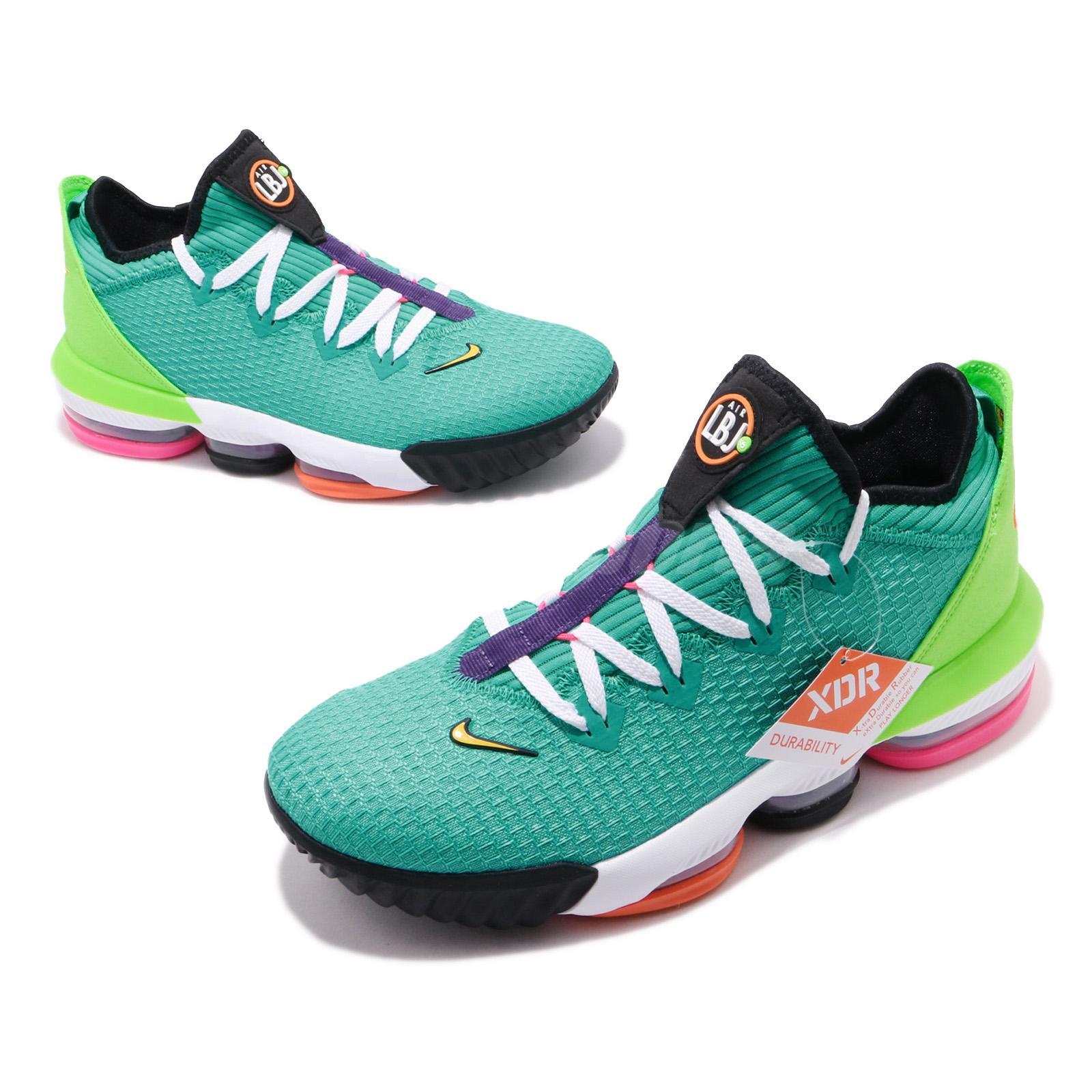 Nike Lebron XVI Low New Men/'s Lebron 16 Air Max CI2668 301 Hyper Jade 8.5-12