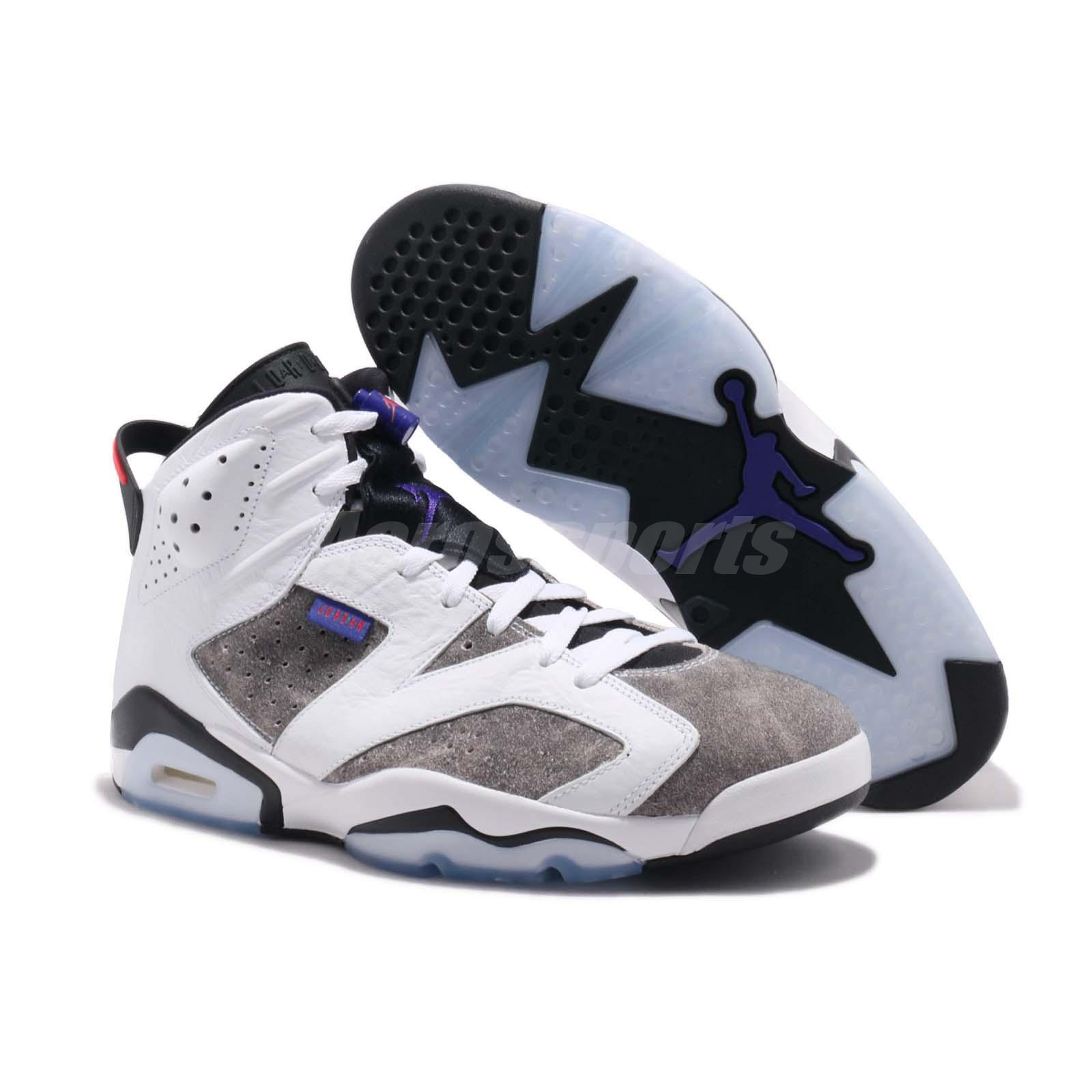 best website 9ea14 a270c Nike Air Jordan 6 Retro VI AJ6 Flint White Infrared 23 Men Shoes ...