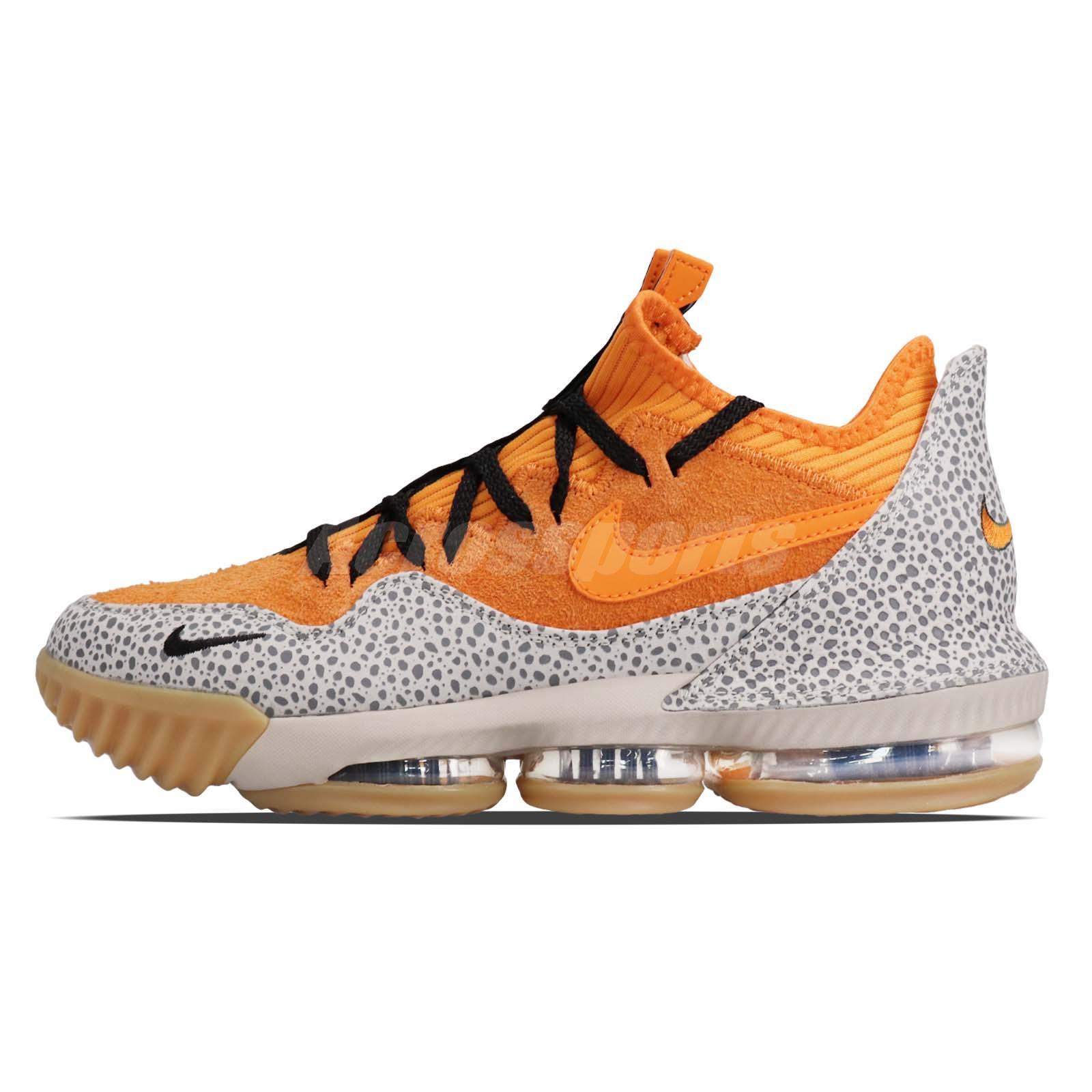 c606b97c42d Nike Lebron XVI Low AC EP 16 James LBJ Atmos Safari Kumquat Men Shoes  CI3358-800