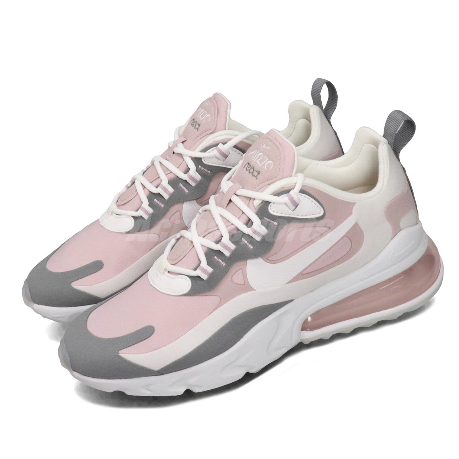 Nike Wmns Air Max 270 React Plum Chalk White Pink Womens Running