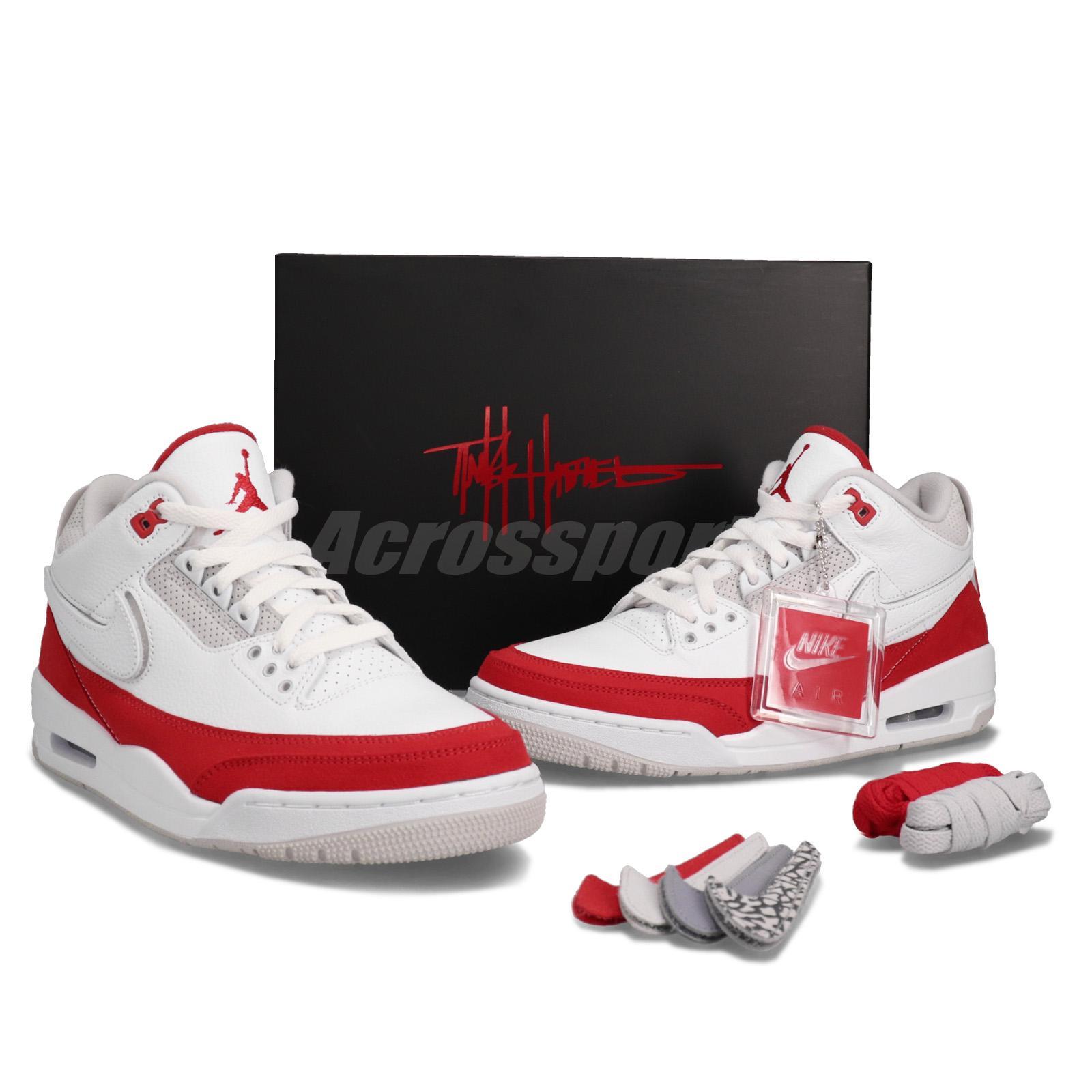 best service 0e4b7 f0628 Details about Nike Air Jordan 3 Retro TH SP Tinker Hatfield Air Max 1 OG  Red White CJ0939-100