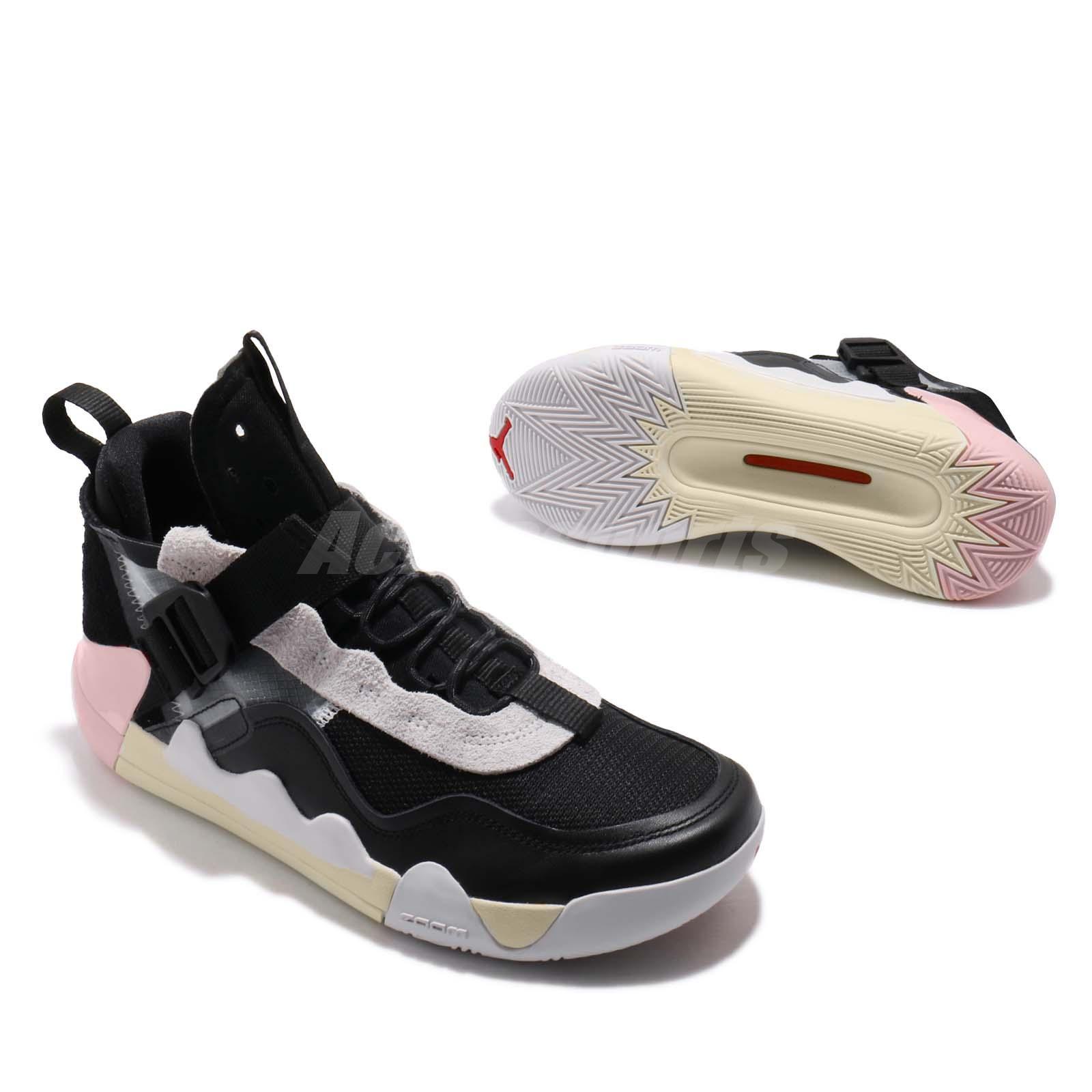 4ac39c7021 Details about Nike Jordan Defy SP Black Pink Yellow Men Basketball Shoes  Sneakers CJ7698-001
