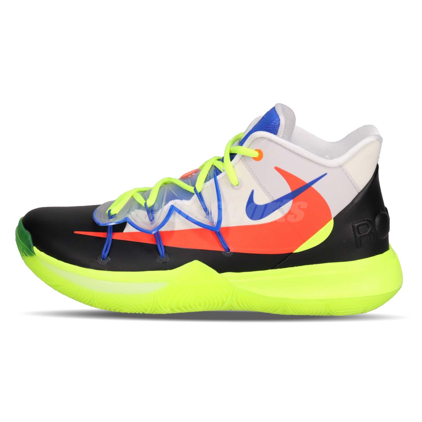 e21c9371a649 Nike Kyrie 5 EP X ROKIT Multi-Color NBA All Star 2019 Basketball Shoe CJ7853 -900
