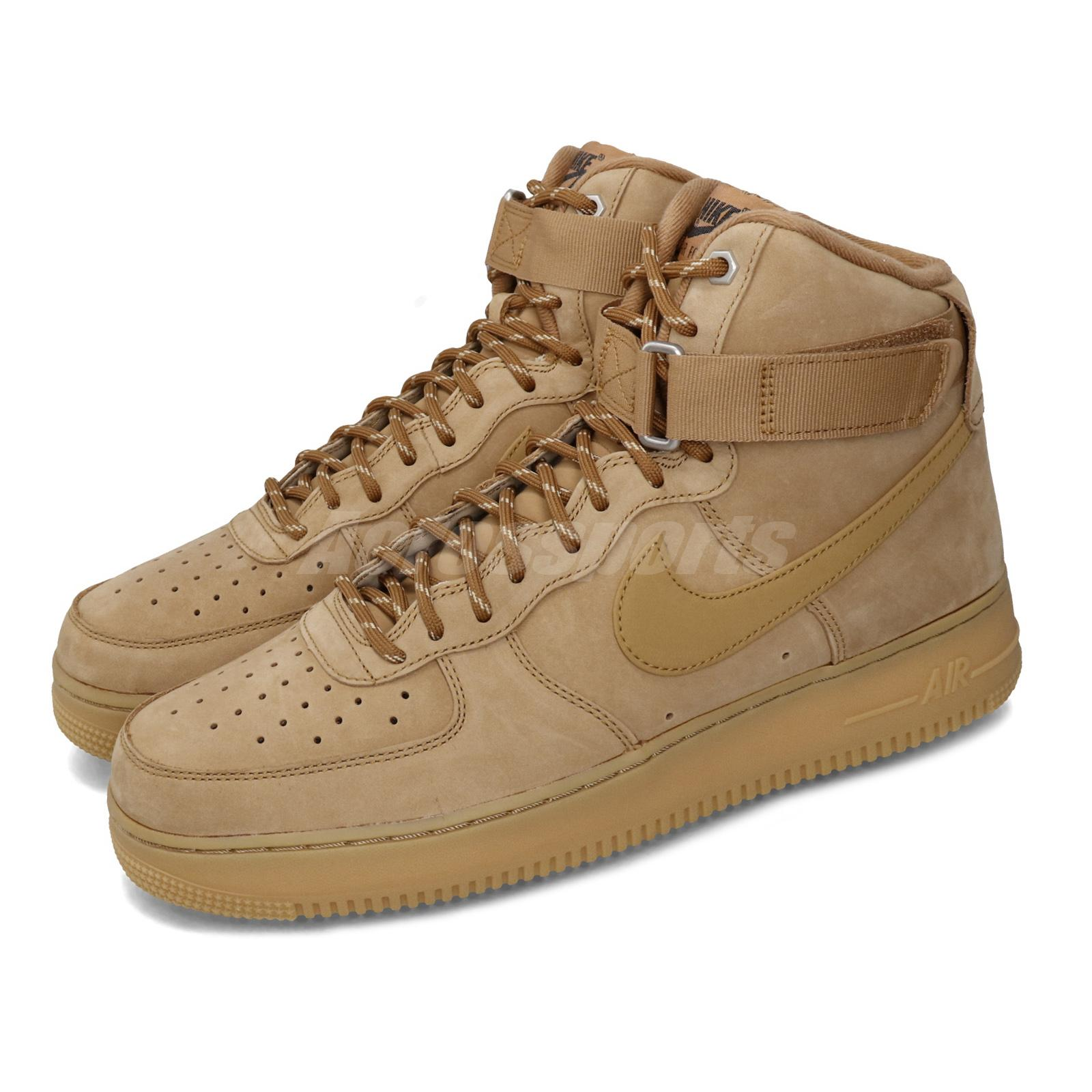 Black Nike Air Force 1 High 07 LV8 WB shoes for Mens Shoes