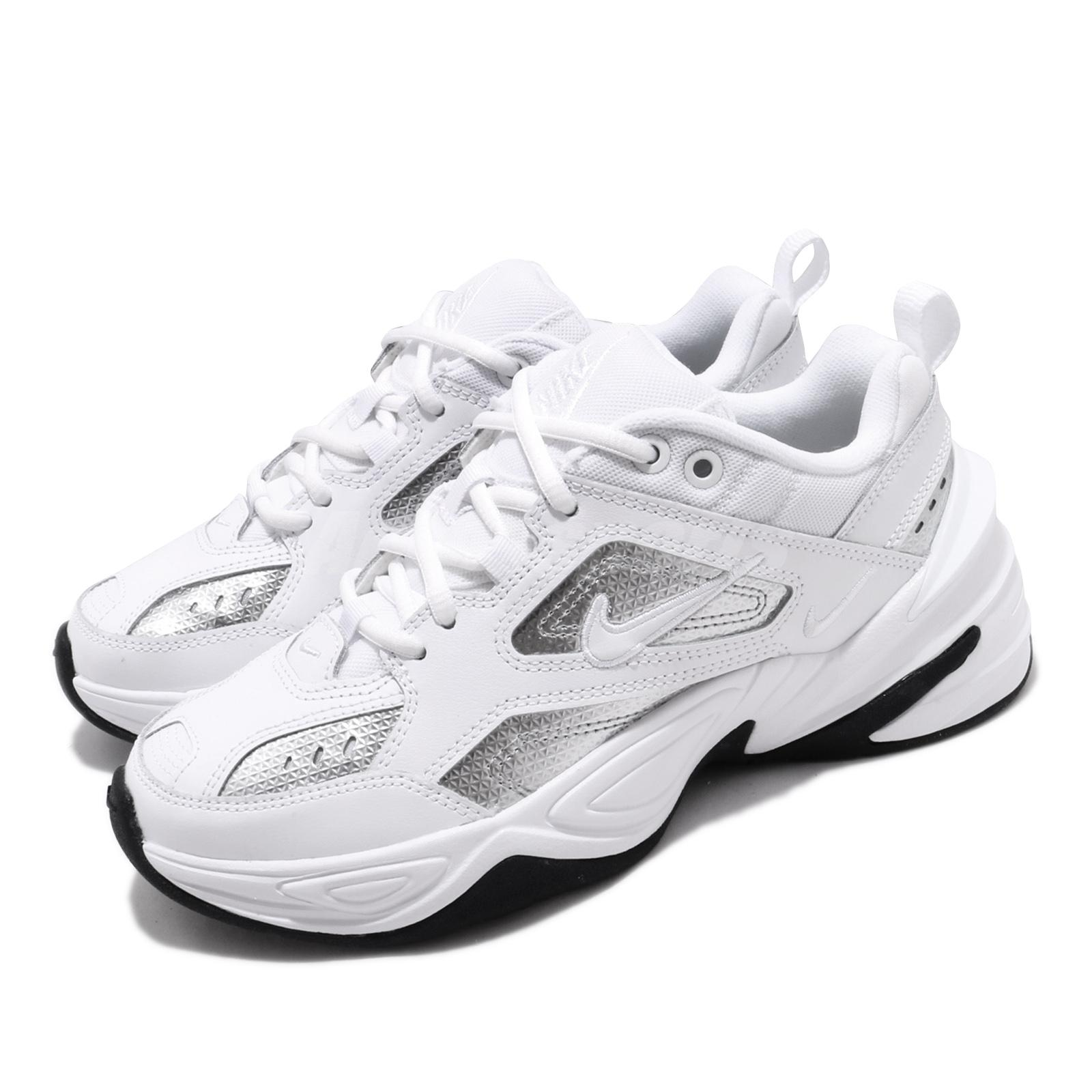 Details about Nike Wmns M2K Tekno ESS Essential White Silver Womens Running  Shoes CJ9583-100