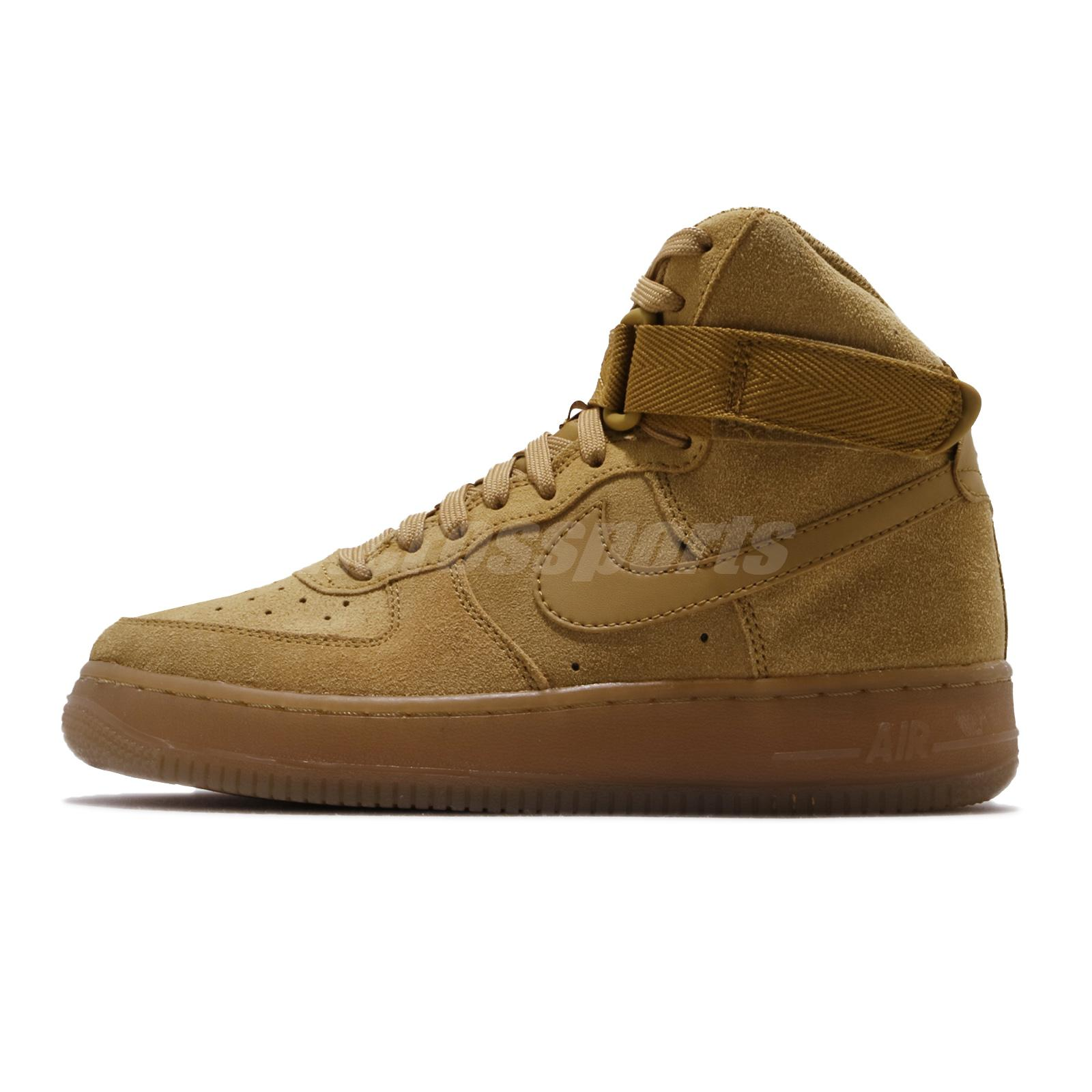 Nike Air Force 1 High Low Wheat Flax Mens Womens Youth Classic Shoes Pick 1