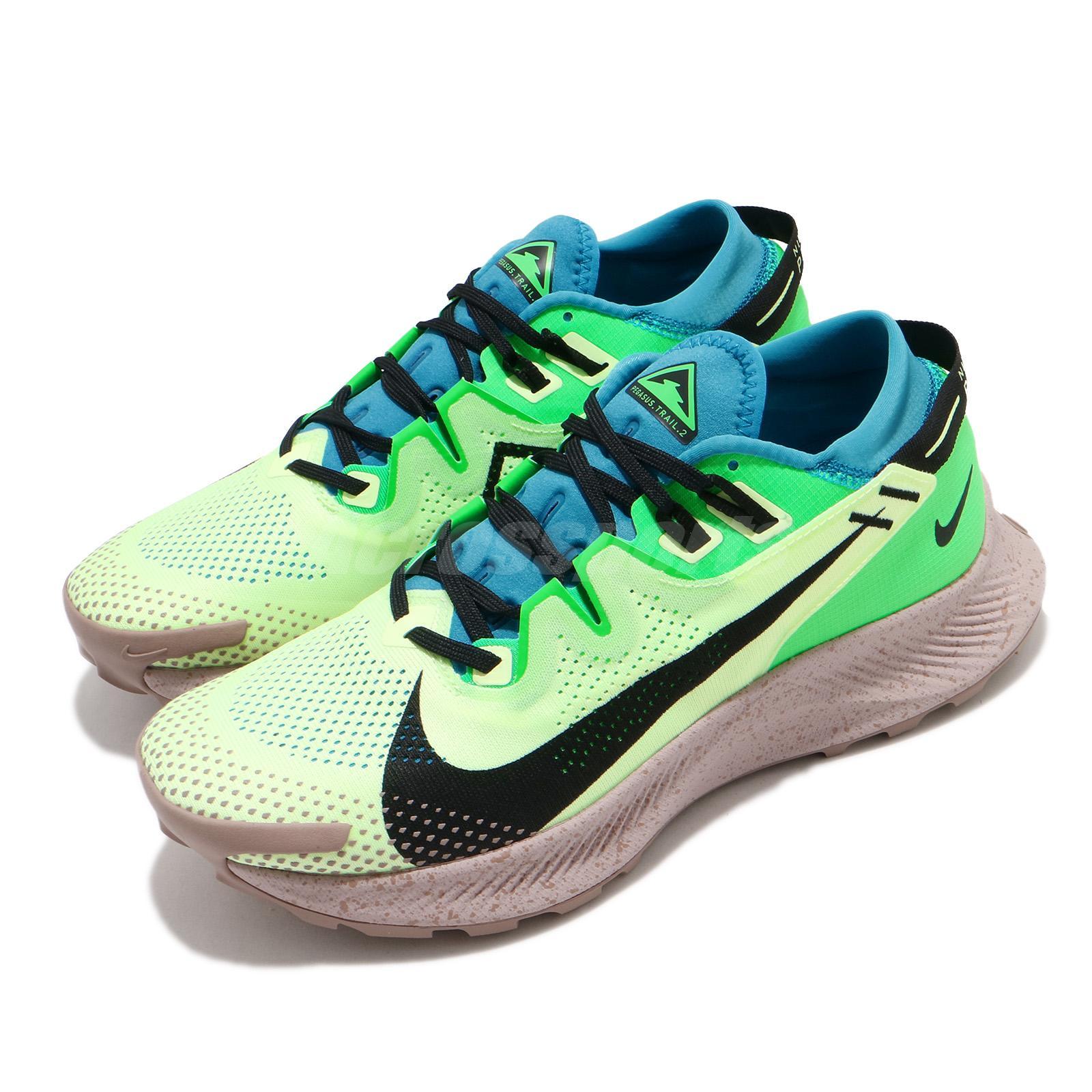rodar Clínica esposa  Nike Pegasus Trail 2 voltios apenas Láser Negro Azul Hombres Para Zapatos  Correr CK4305-700   eBay