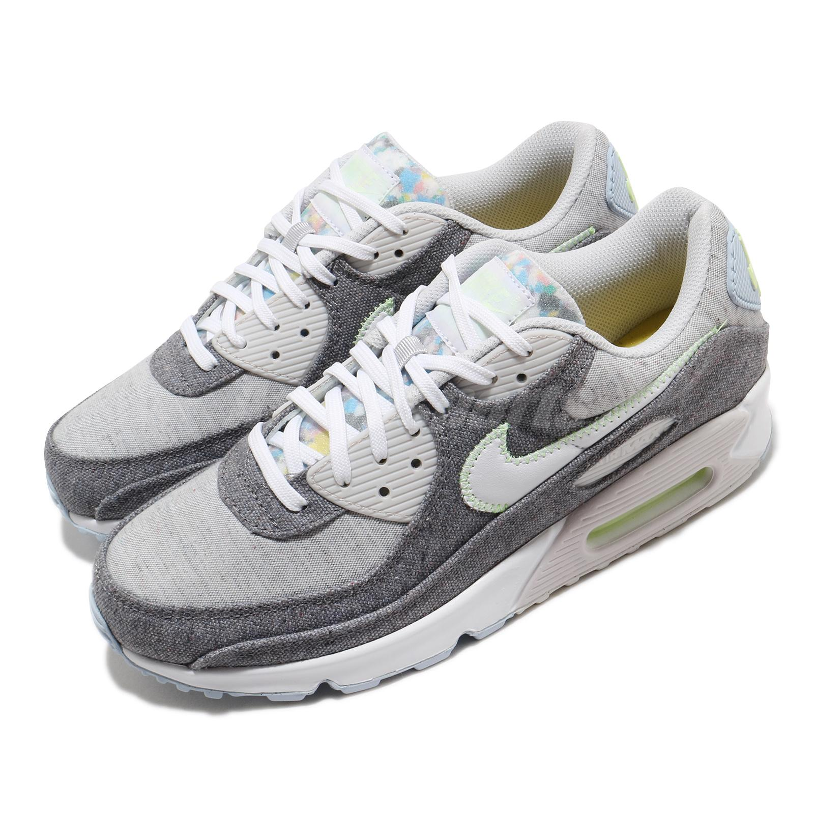 Details about Nike Air Max 90 NRG Crater Vast Grey Volt White Men Casual  Lifestyle CK6467-001