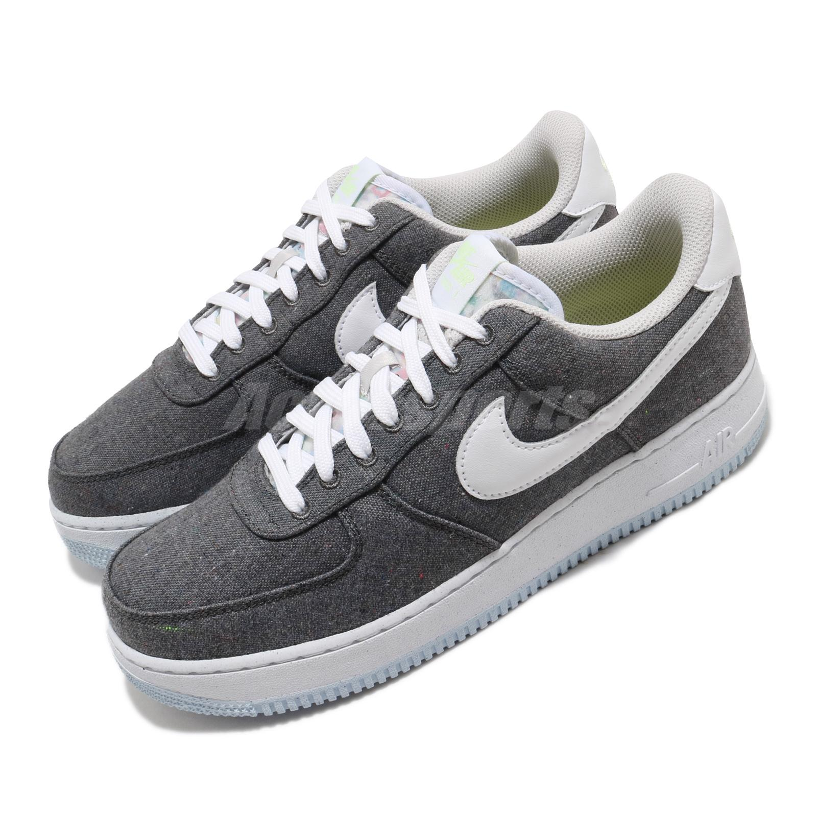 Details about Nike Air Force 1 07 AF1 Iron Grey White Men Casual Lifestyle  Shoes CN0866-002
