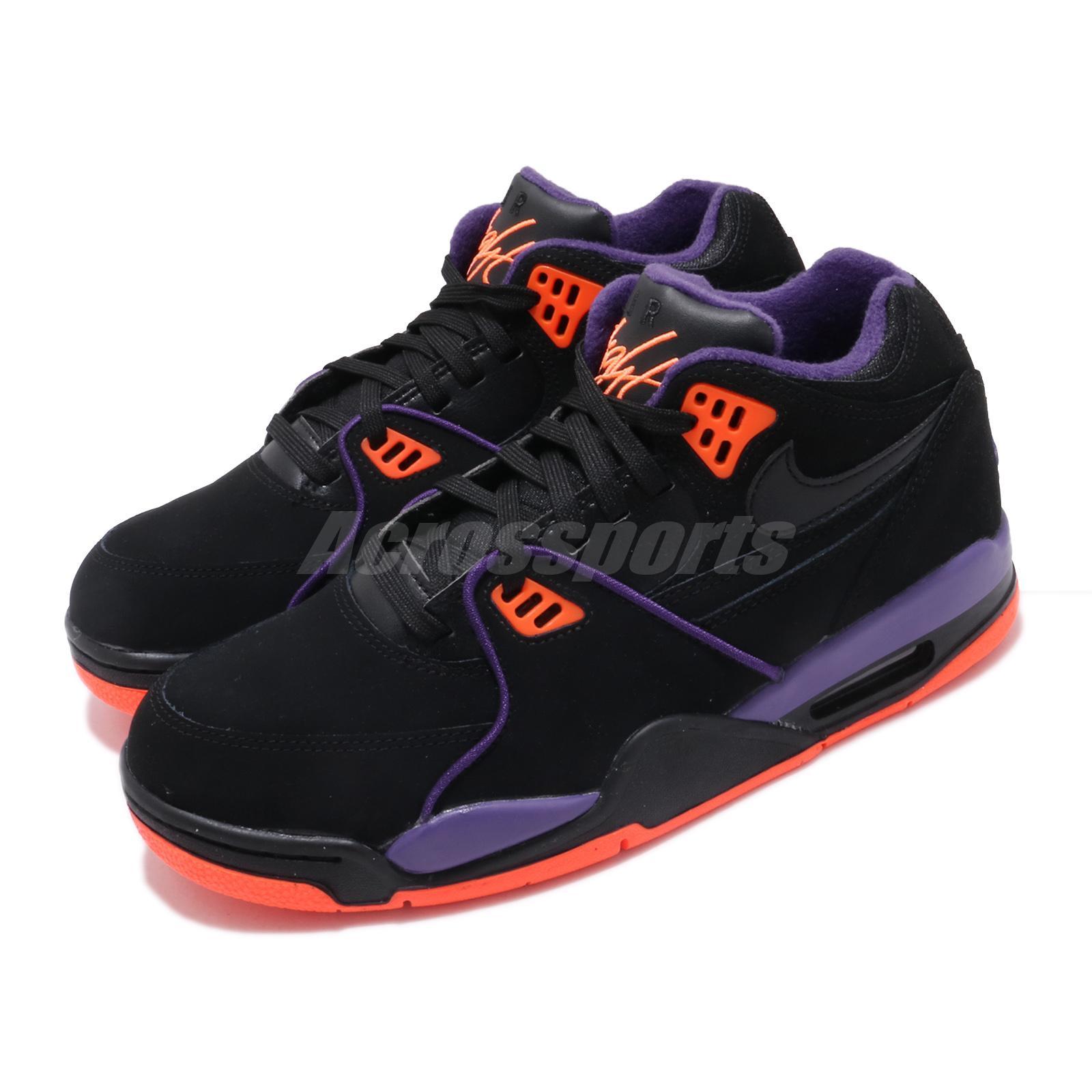 Nike Air Flight 89 Black Purple Orange