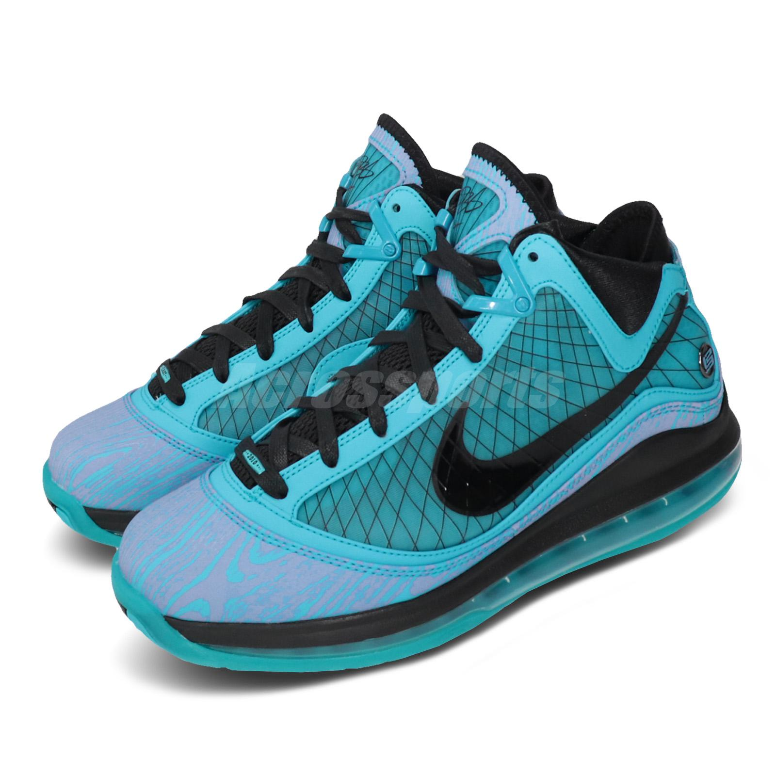 Details about Nike LeBron 7 VII All Star Chlorine Blue James Men Basketball  Shoes CU5646-400