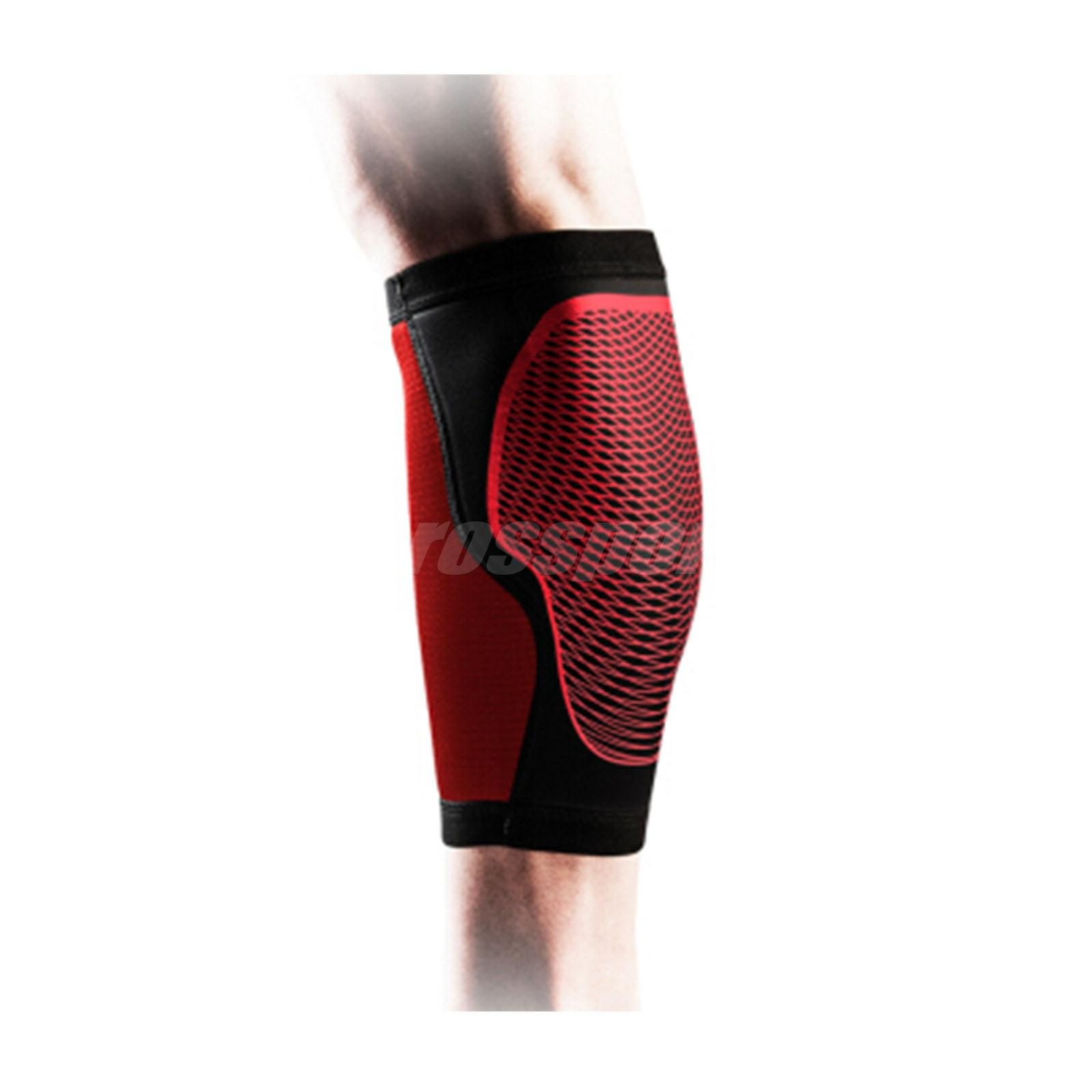 765d0bf17f9b7 Nike Pro Hyperstrong Calf Sleeve Support Compression GYM Fitness Black Red