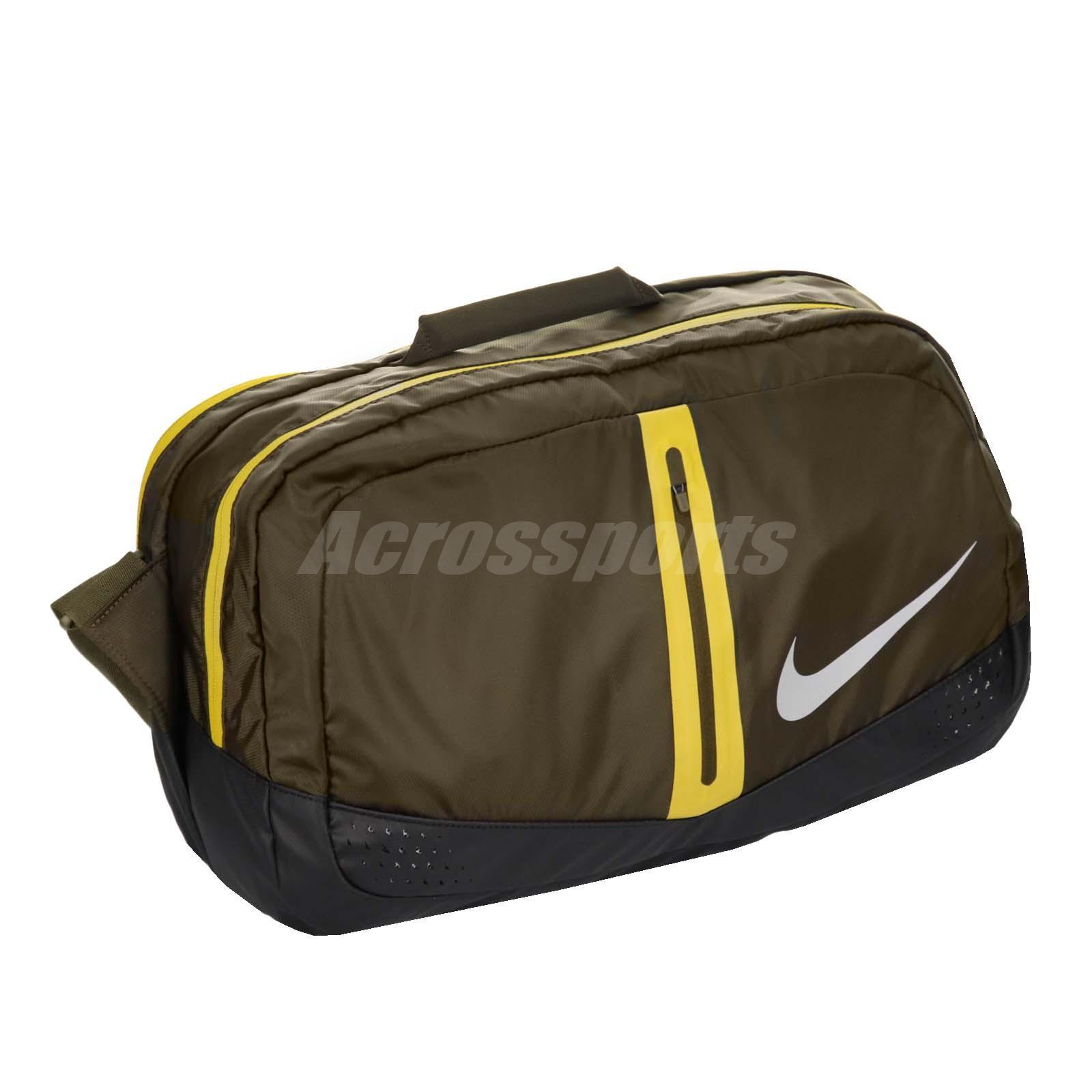 47b37f795f0b Details about Nike Run Speed Duffel Bag 34L Bag Green Yellow Duffle  Reflevtive NRI0232-7NS