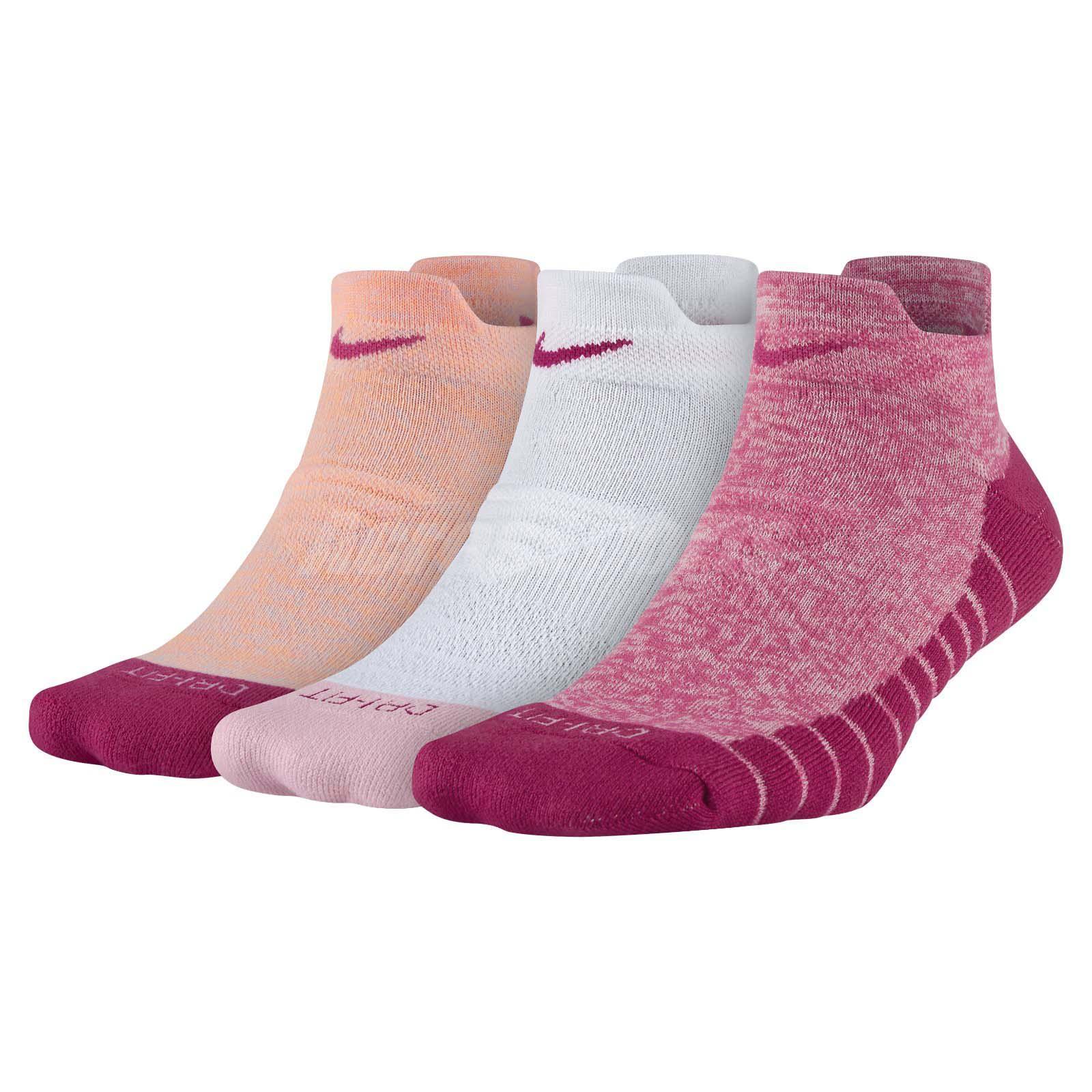 Peds  Women/'s Micro Acrylic No Show Socks 3 Pair