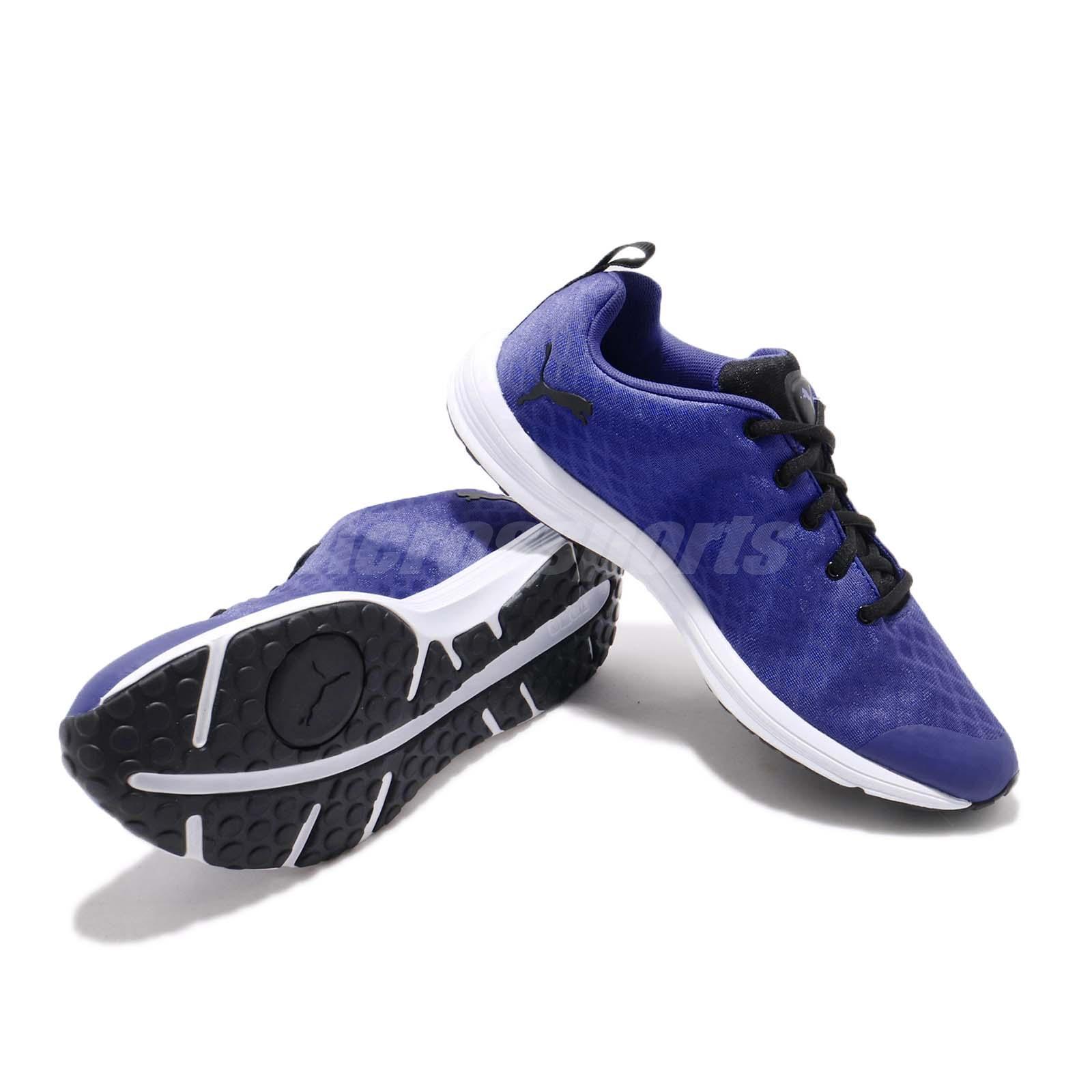 Puma Fugitivo Xt V2 Ft Wins Azul Royal Preto Branco feminino tênis ... 9710ece483045