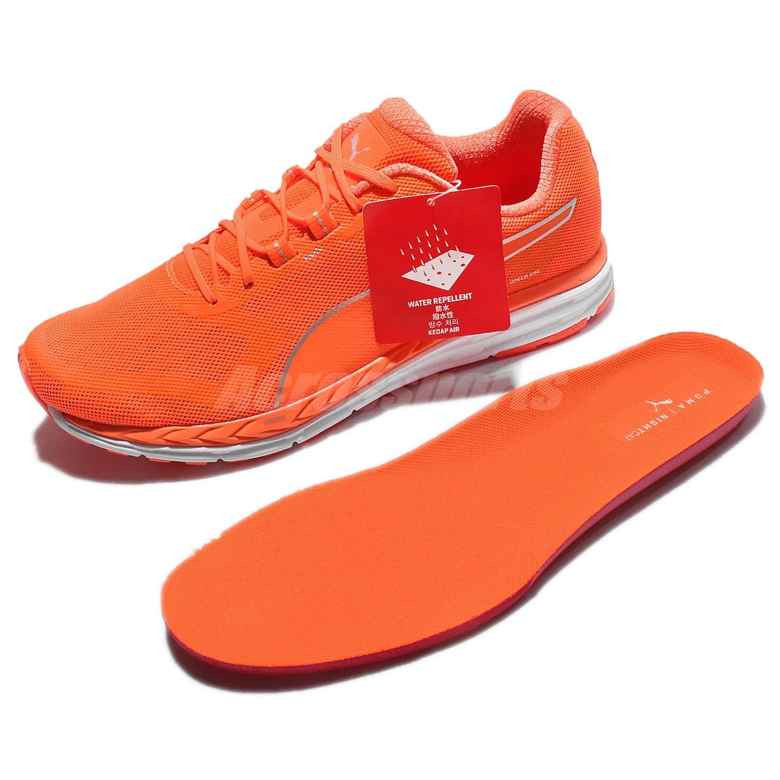 42948bd37b1 Puma Speed 500 Ignite Nightcat 3M Reflective Orange Men Running ...