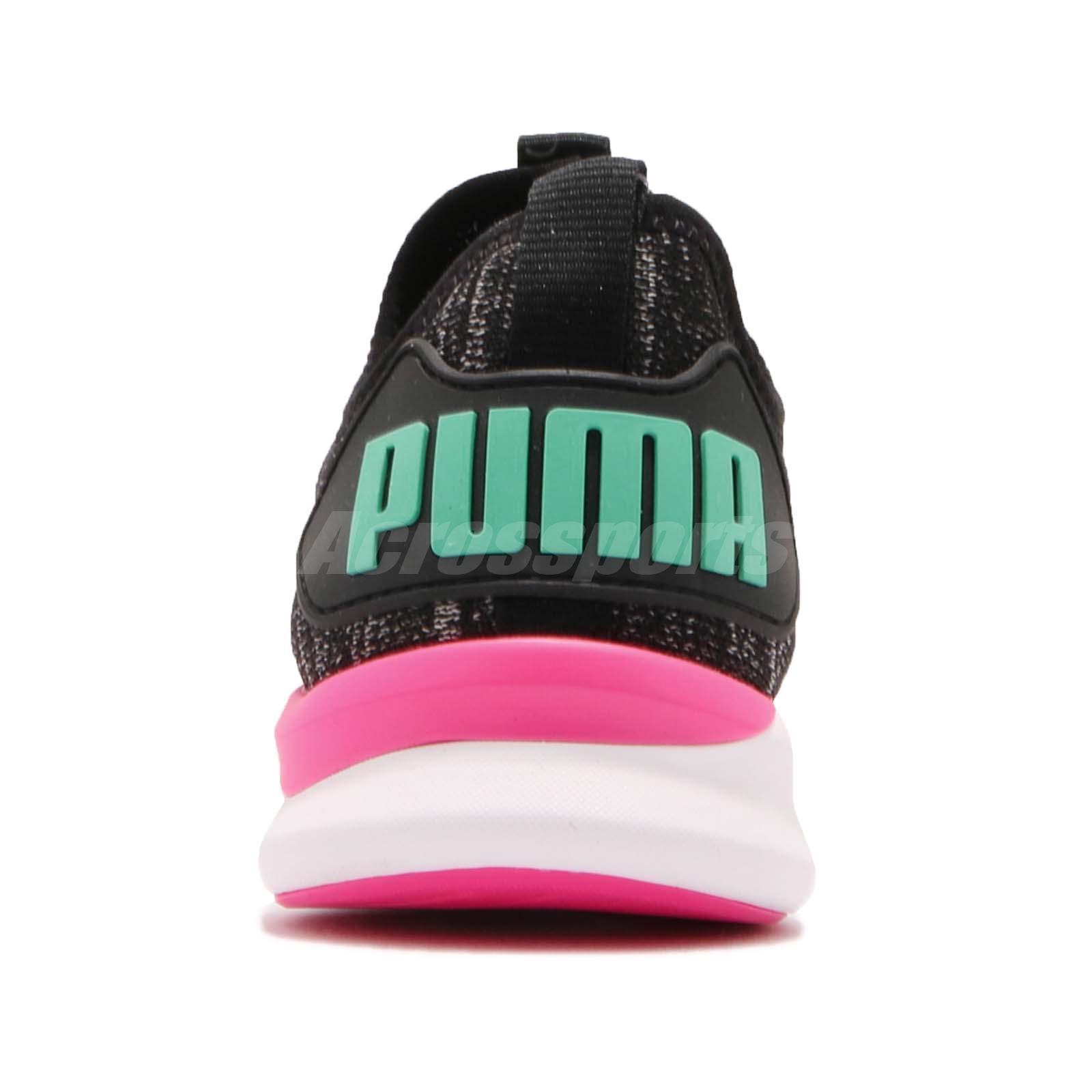 Puma IGNITE Flash EvoKNIT Wns Lewis Hamilton Black Pink Training ... 055b23909