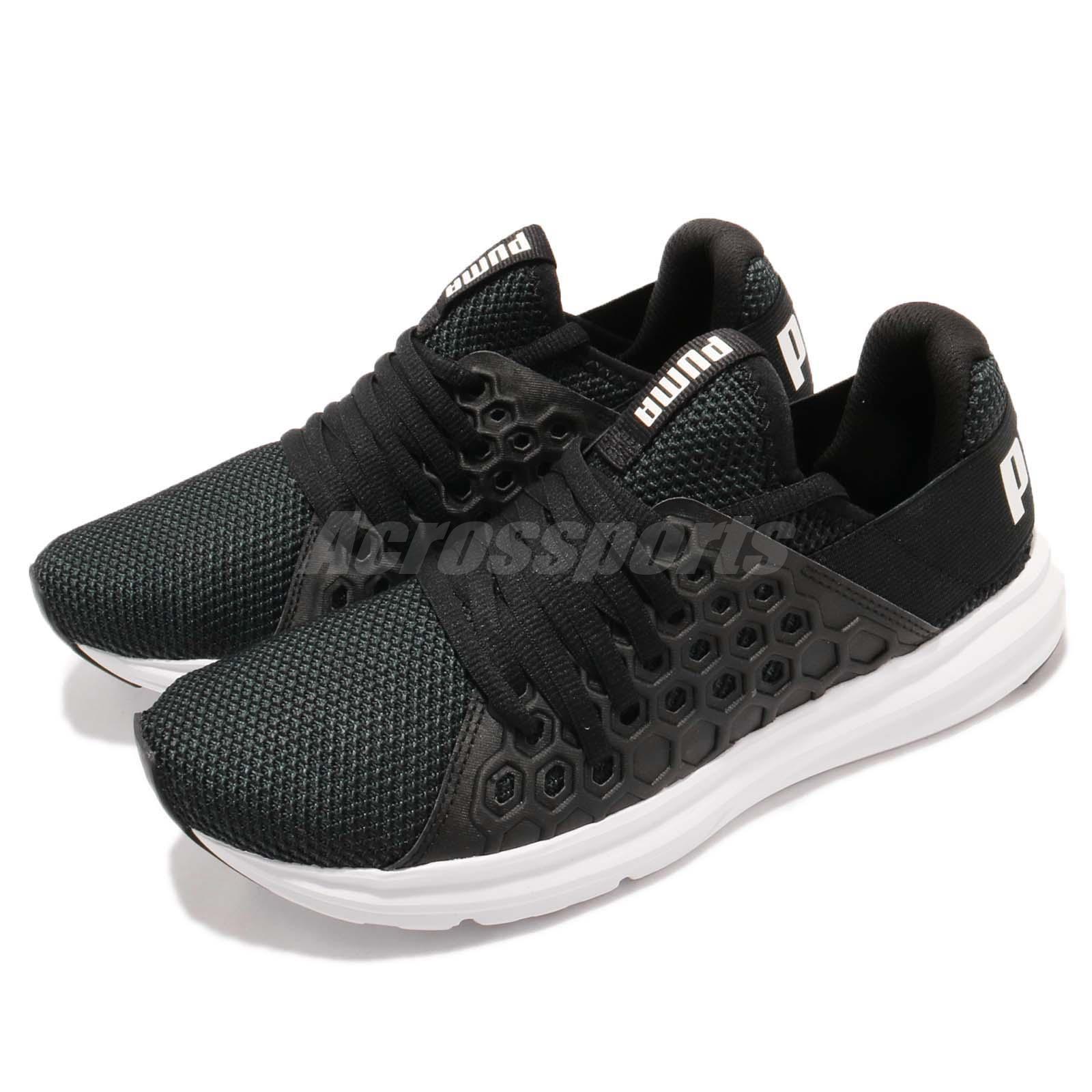 Puma Enzo NF Black White Men Lifestyle Fashion Running Shoes Sneakers 190932 01