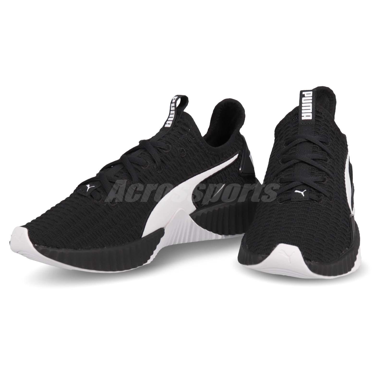Détails sur Puma Defy Wns Black White Women Running Training Casual Shoes Sneakers 190949 12