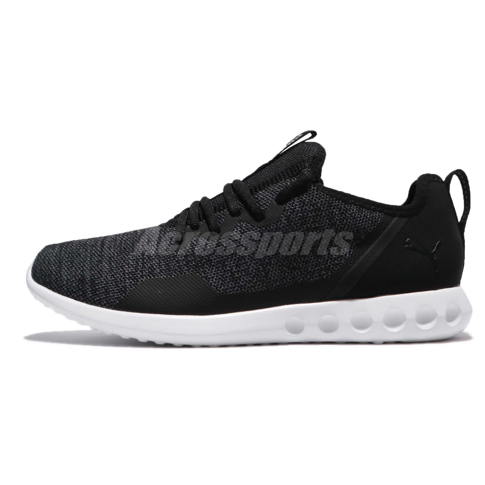 e9a82a2f3821 Puma Carson 2 X Knit Black Asphalt Men Running Casual Shoes Sneakers  190966-01