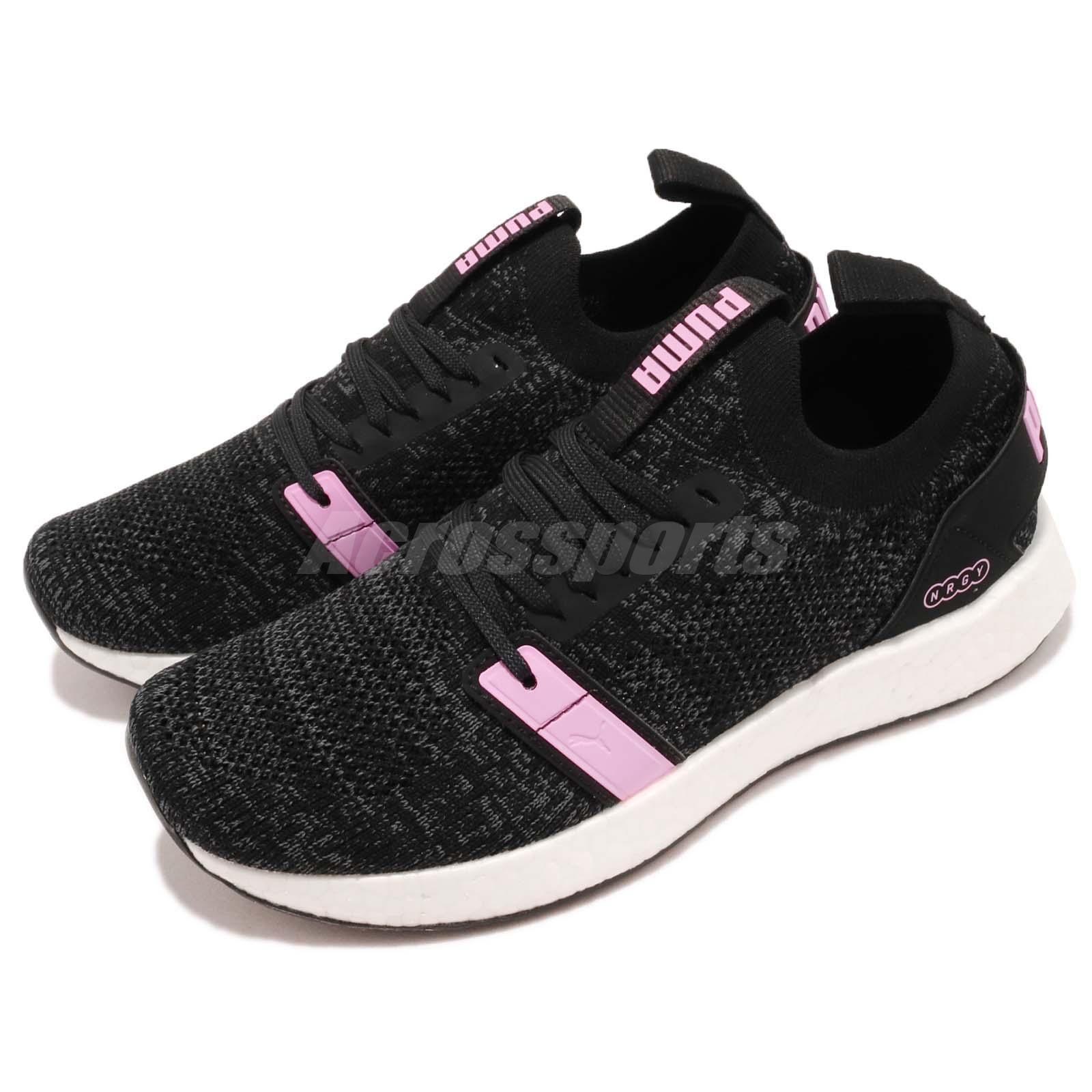 Details about Puma NRGY Neko Engineer Knit Wns Black Orchid Women Running Shoes 191094 01