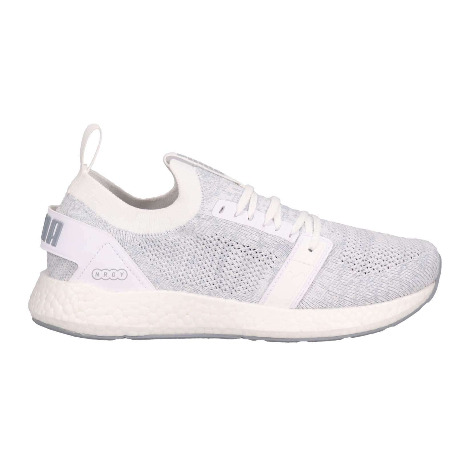 5808b3bf4d52aa Puma NRGY Neko Engineer Knit Wns White Quarry Women Running Shoes ...