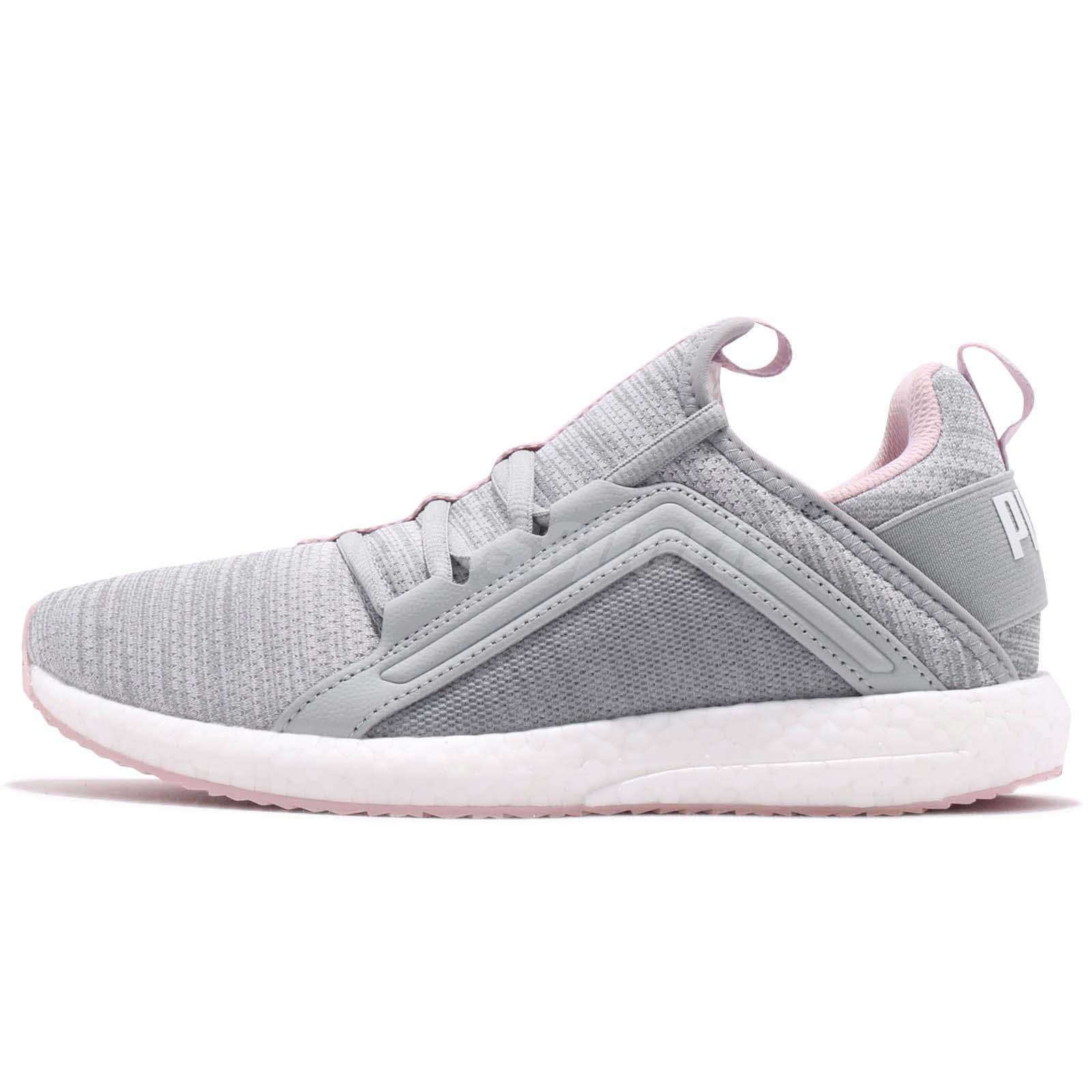 a0bca809124378 Puma Mega NRGY Heather Knit Wns Quarry Orchid Women Running Shoes 191096-04
