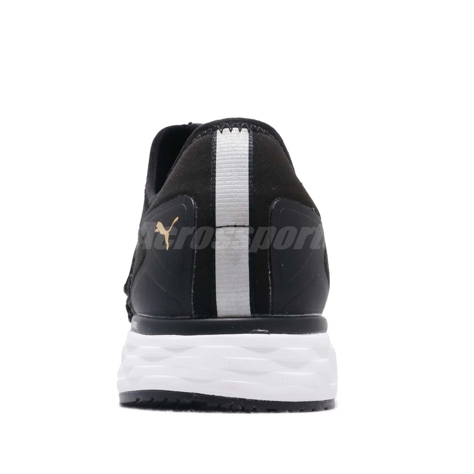 e510528979e227 Puma Speed 600 Fusefit Black White Taos Taupe Men Running Shoe ...