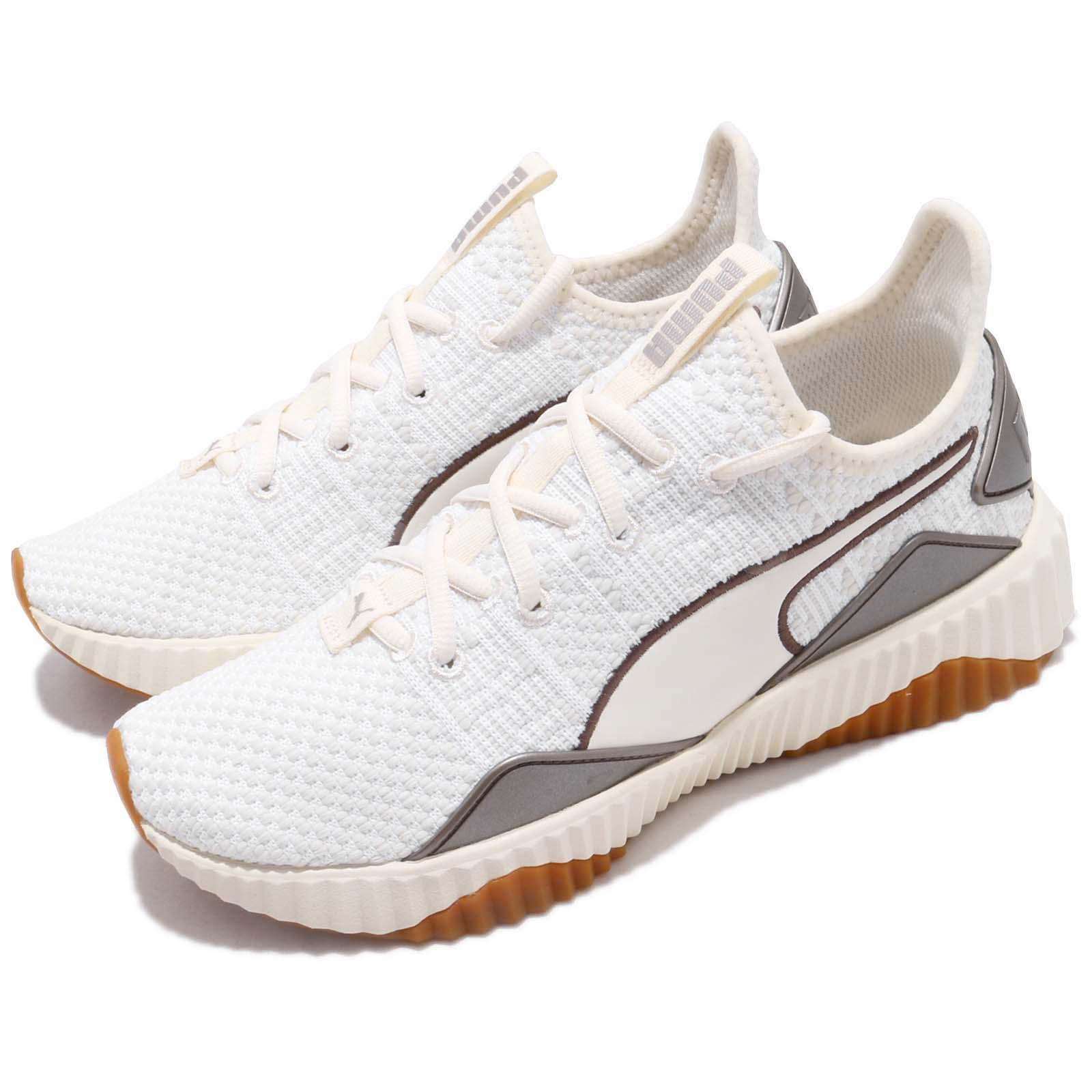 Puma Defy Luxe Wns White Ivory Gum