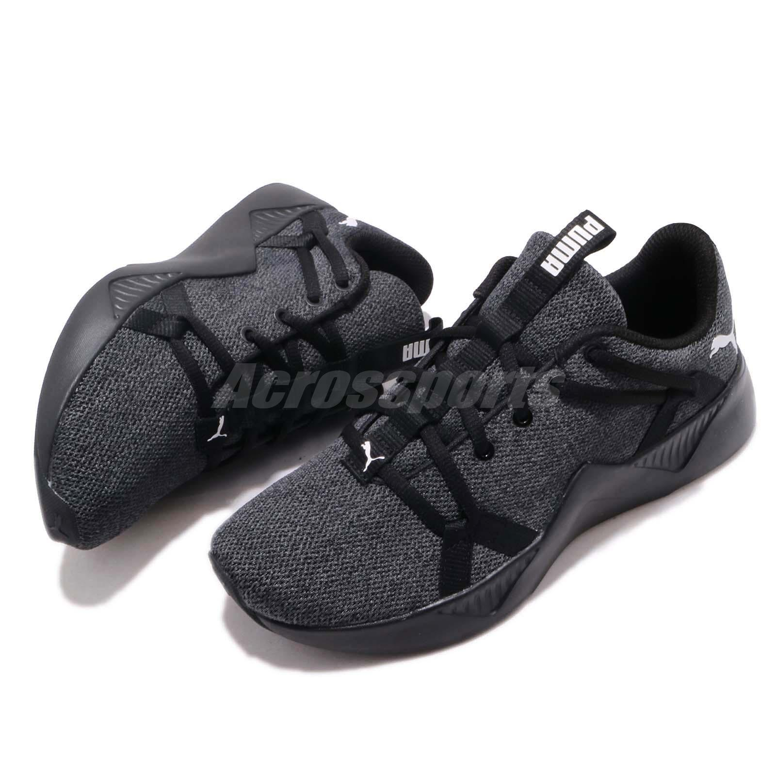 7c402d867bf Puma Incite Knit Wns Black White Women Running Casual Shoes Sneakers ...
