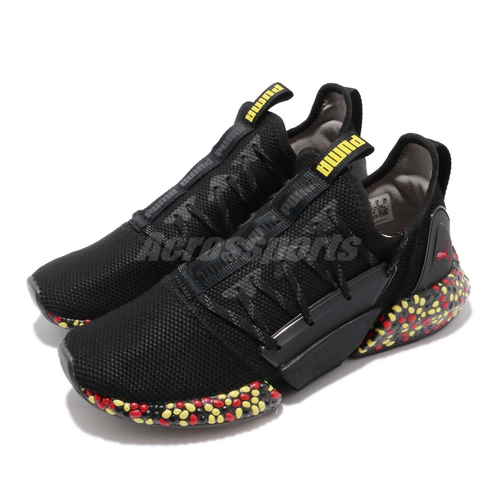 Details about Puma Hybrid Rocket Runner Black Yellow Red Men Running Shoes  Sneakers 191592-10 94ef45b50