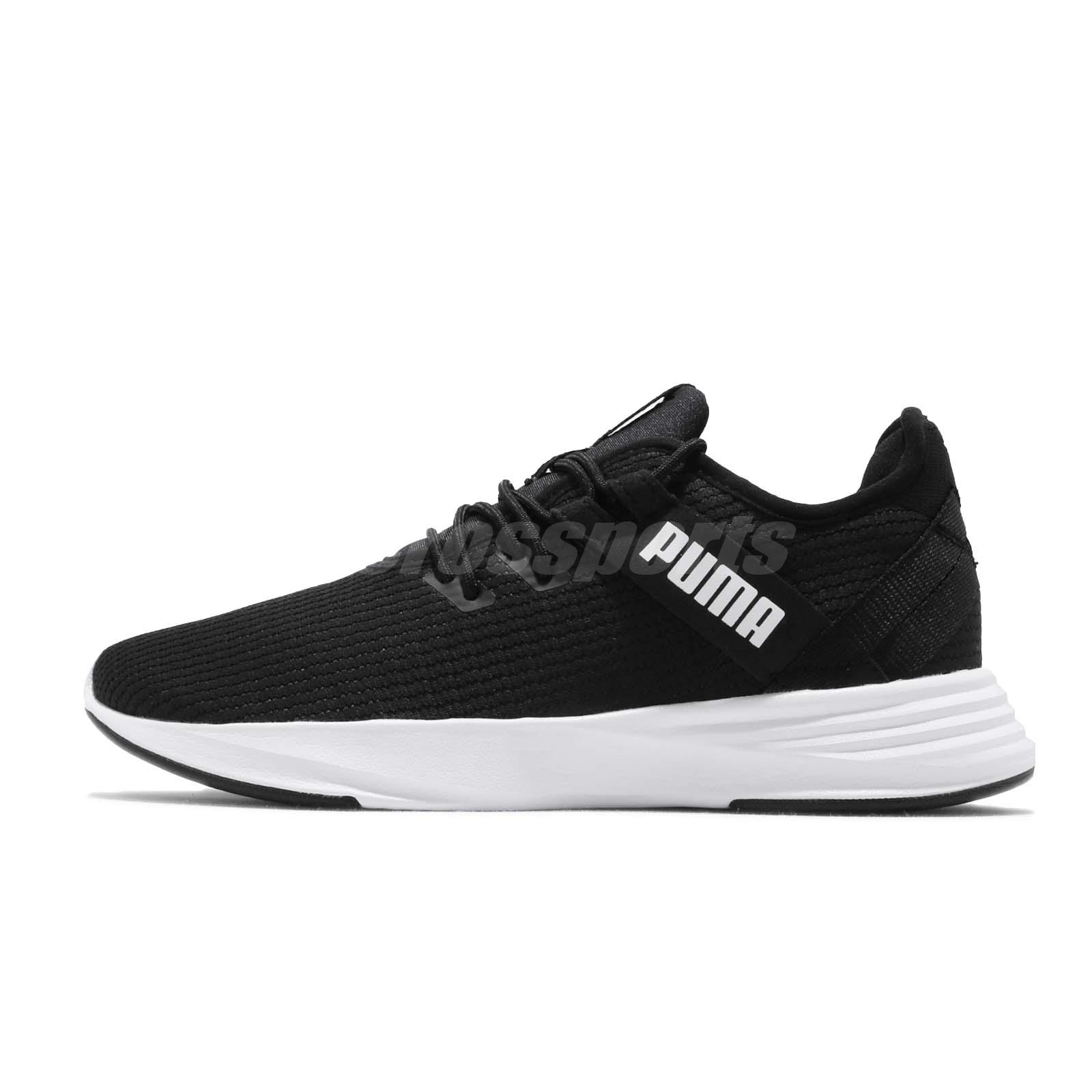 3d2e3b53 Details about Puma Radiate XT Wns Black White Women Running Training Shoes  Sneakers 192237-01