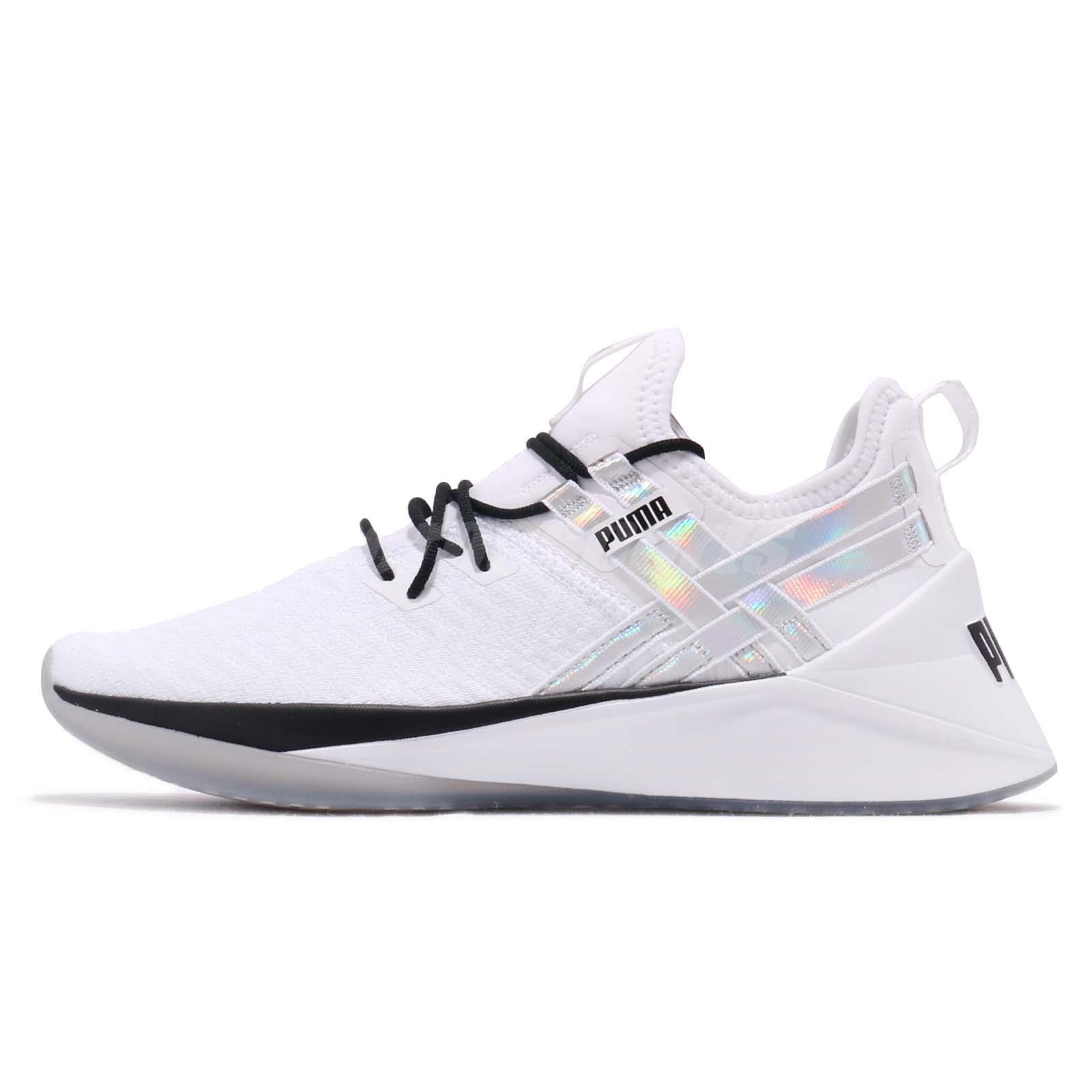 639a166d8f Puma Jaab XT Iridescent TZ Wns White Black Women Cross Training Shoes  192240-02