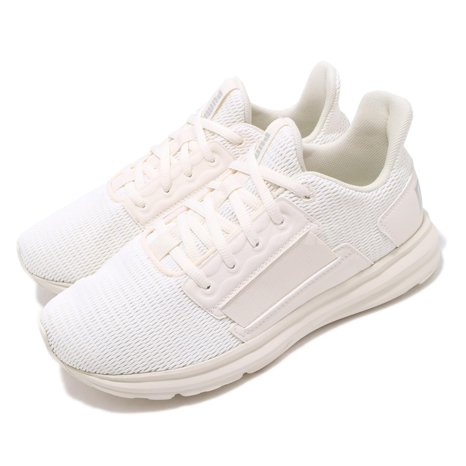 Details about Puma Enzo Street Heather Wns Whisper White Silver Womens Running Shoes 192350 02