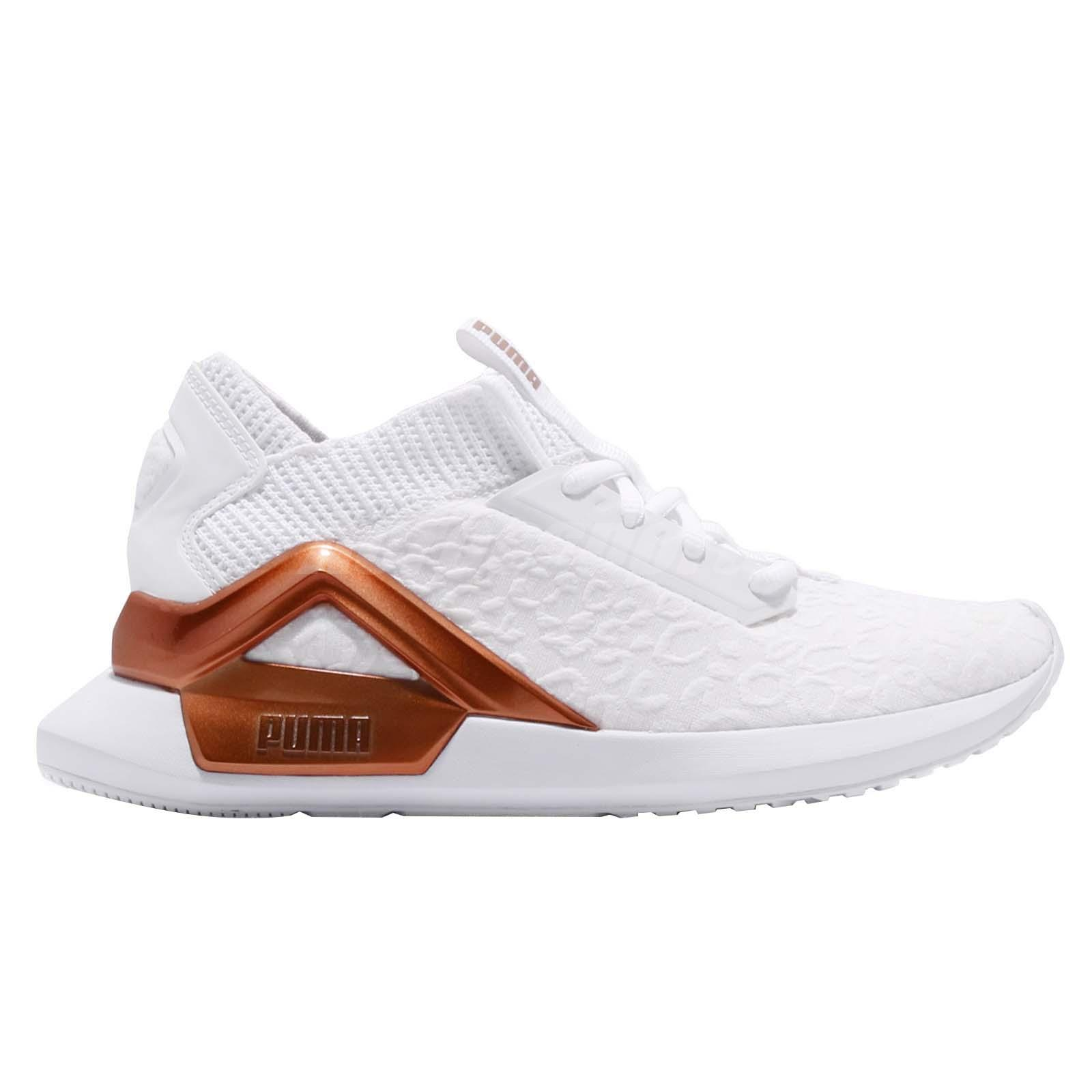 6e28ab0f02c3 Puma Rogue Metallic Wns White Rose Gold Women Cross Training Shoes ...