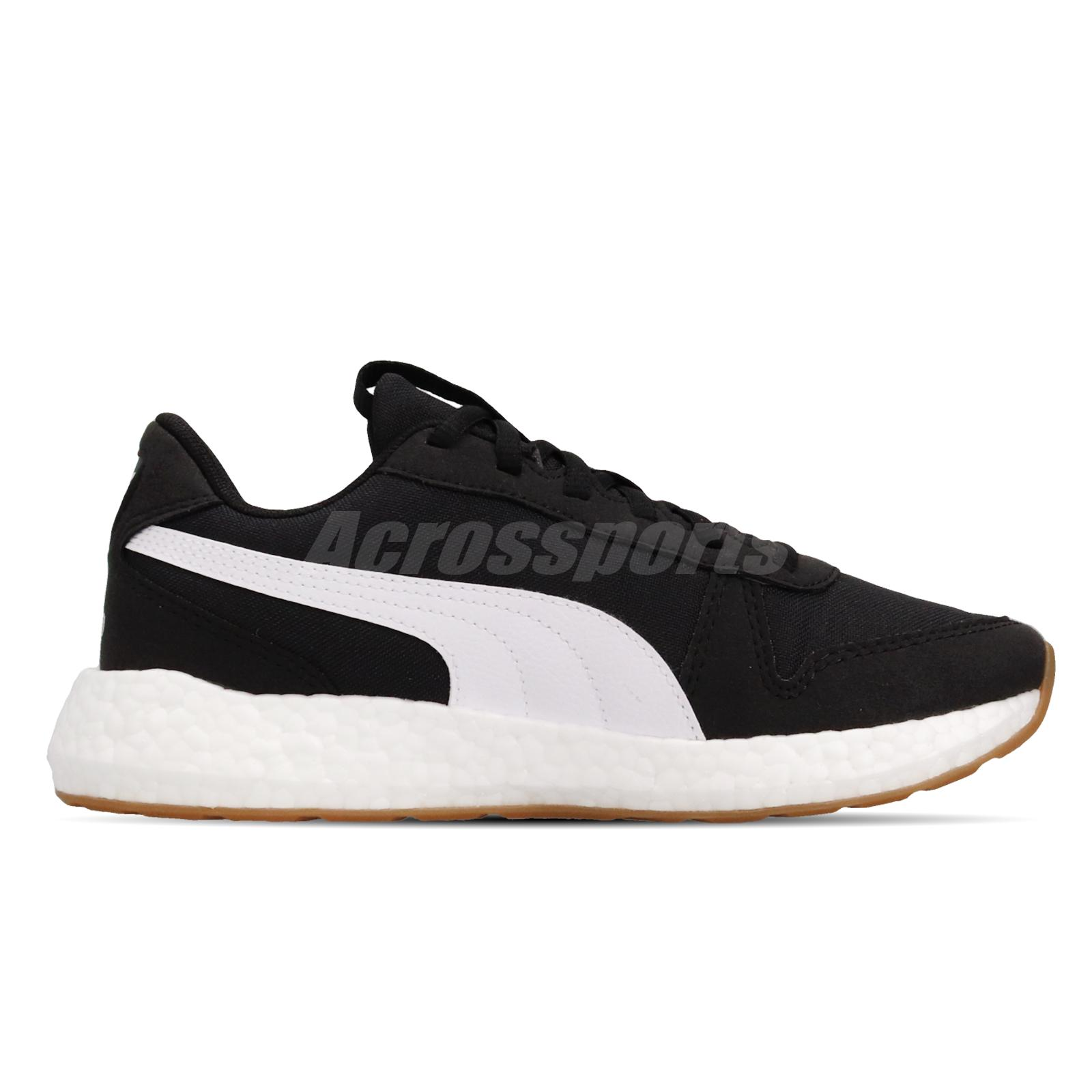 Details about Puma NRGY Neko Retro Wns Black White Gum Women Running Shoes  Sneakers 192617-02
