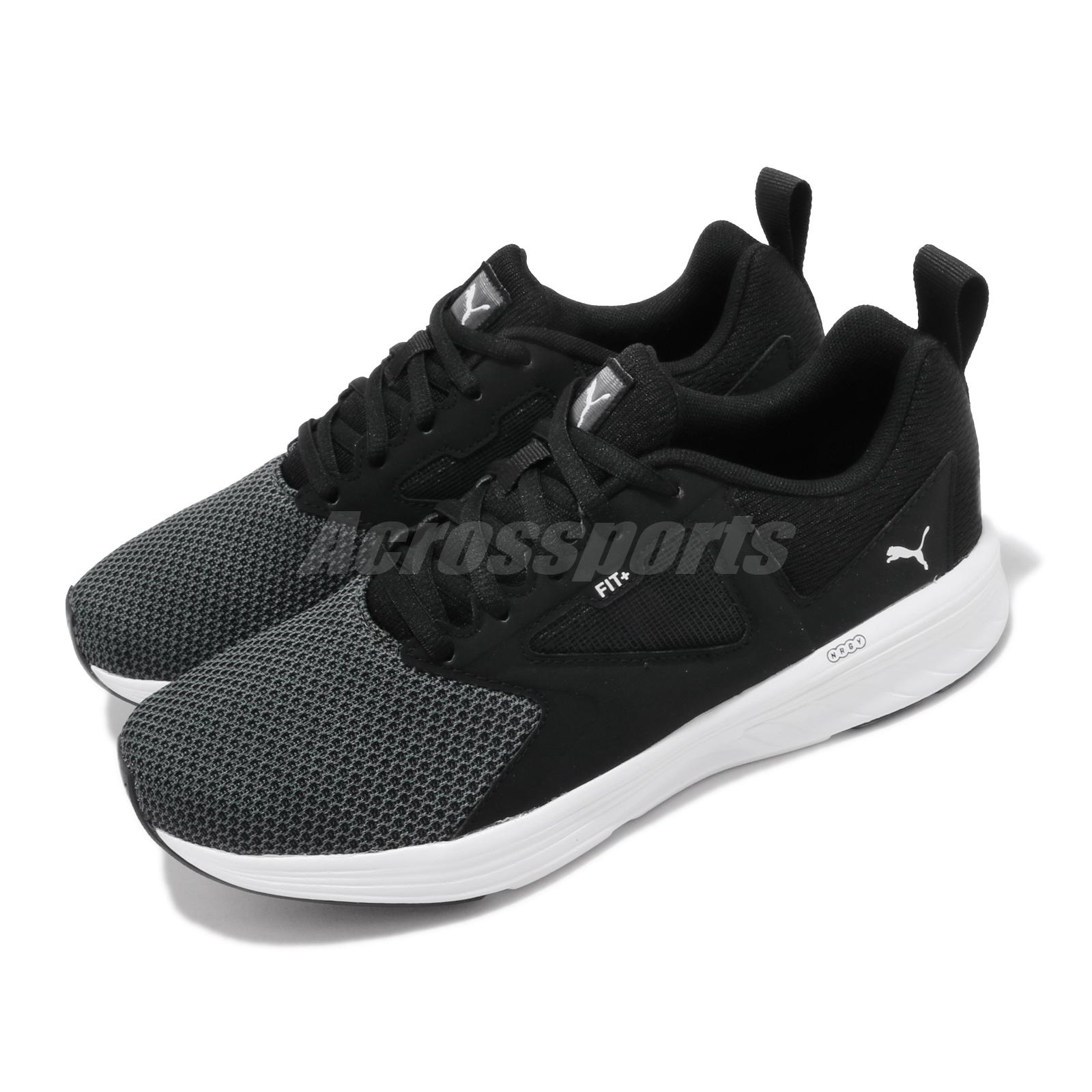 Details about Puma NRGY Asteroid Black White Men Women Unisex Running Shoes  Sneakers 192804-01
