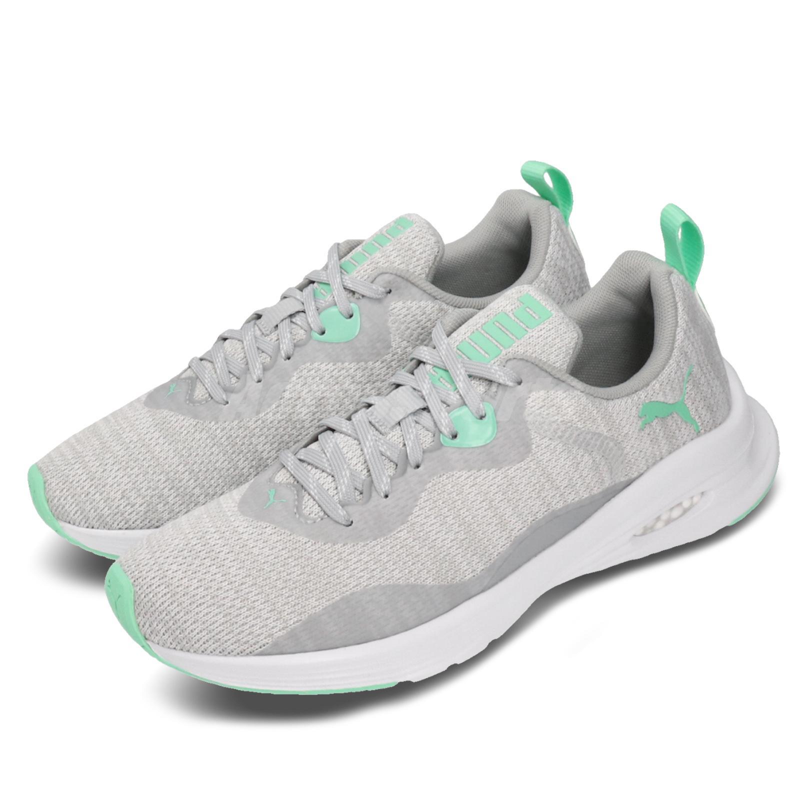 Details about Puma Hybrid Fuego Knit Wns Grey Green White Women Running  Shoe Sneaker 192957-05