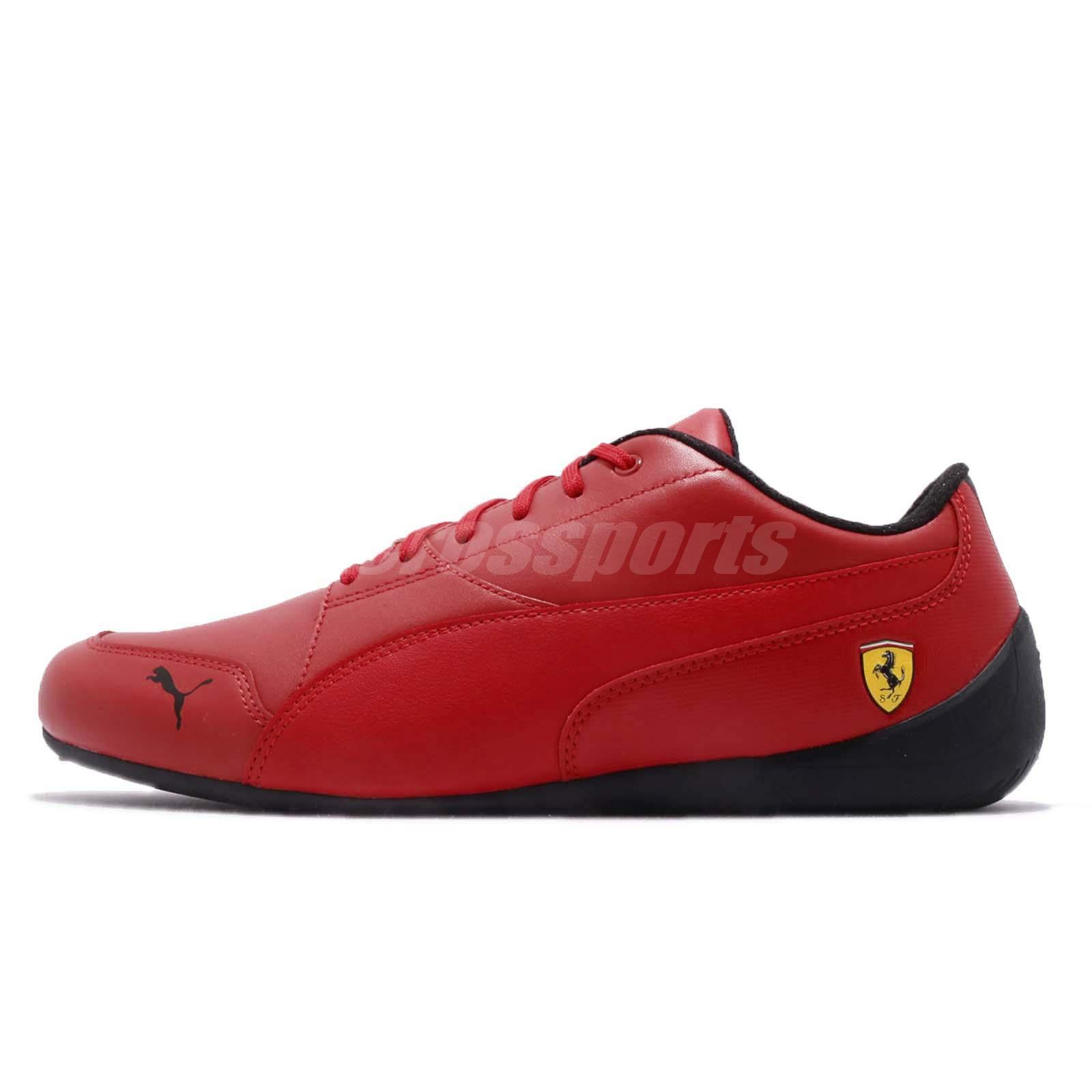 Puma SF Drift Cat 7 Ferrari Red Black Men Women Motorsport Shoes 305998-04 cb0f5f608